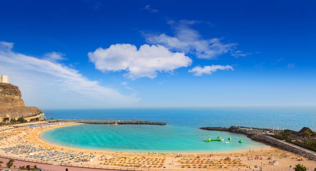 Beach, Canary Islands, Coast