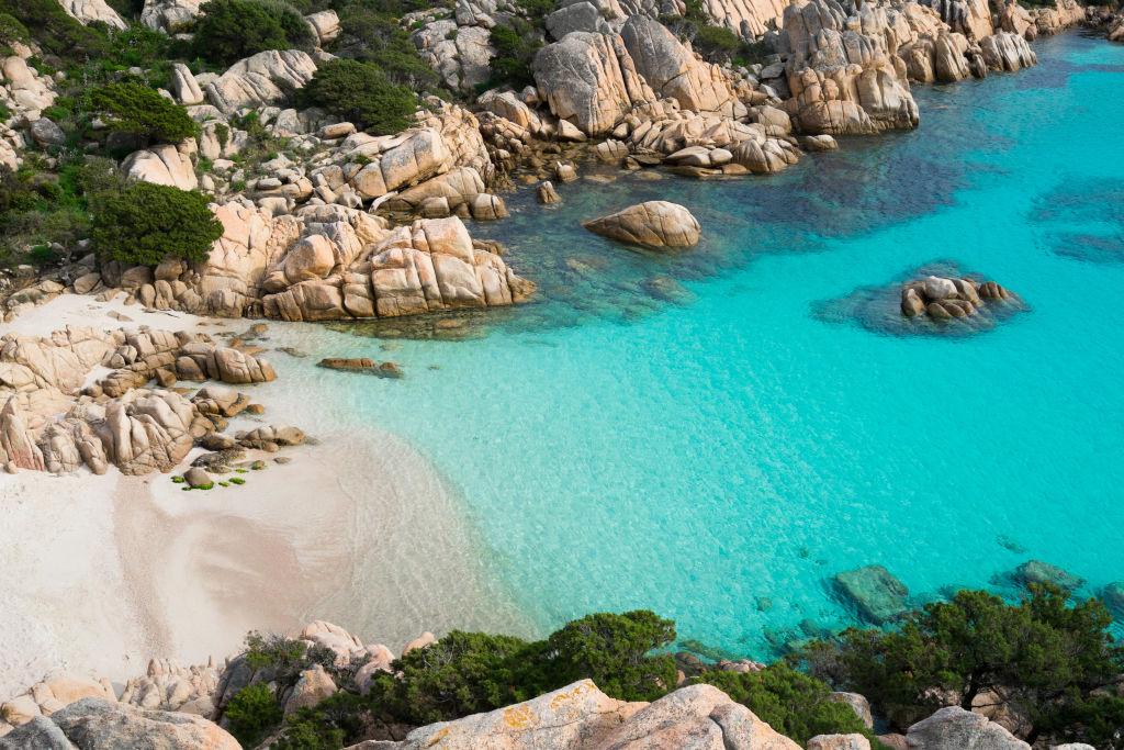 Caprera Island, Sardinien