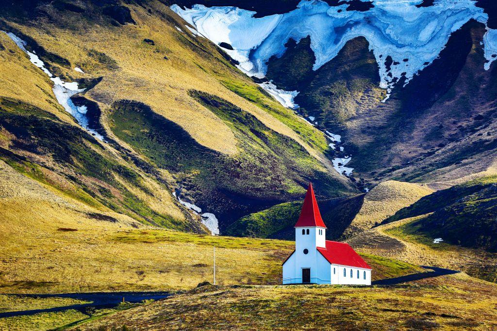 Europe, Iceland, Mýrdalshreppur