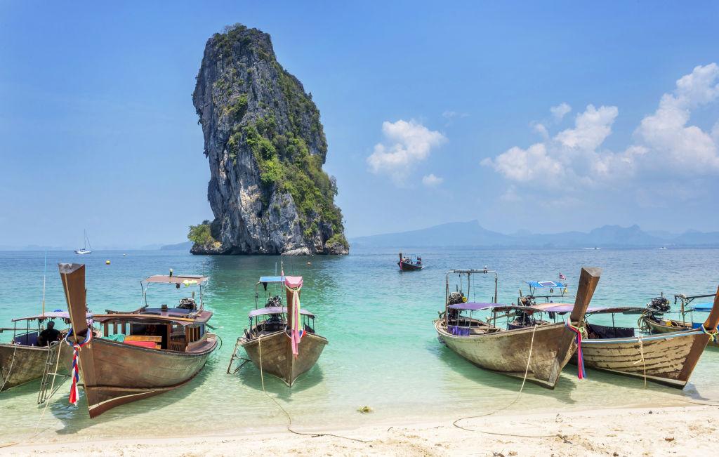 Asia, Krabi, Railay Beach