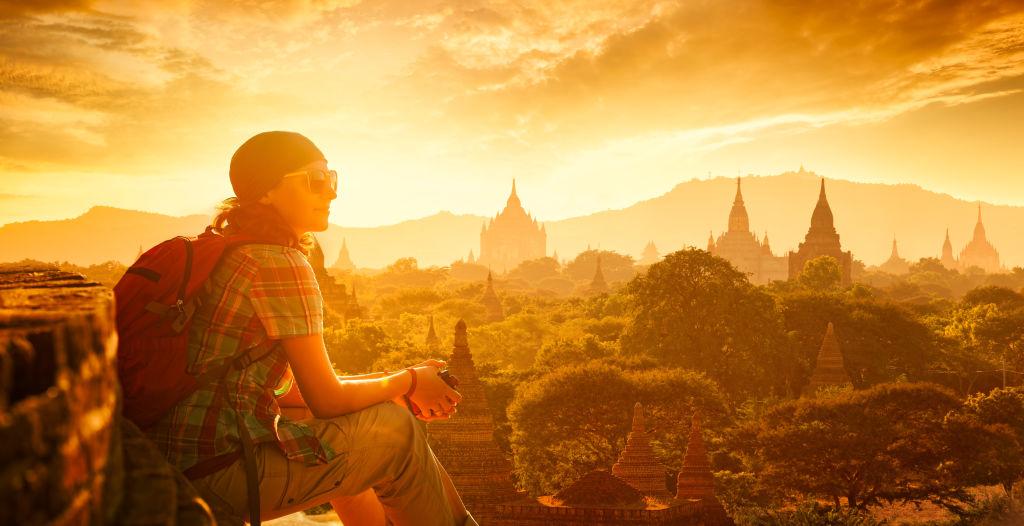 Asia, Bagan Temple, Mandalay Region