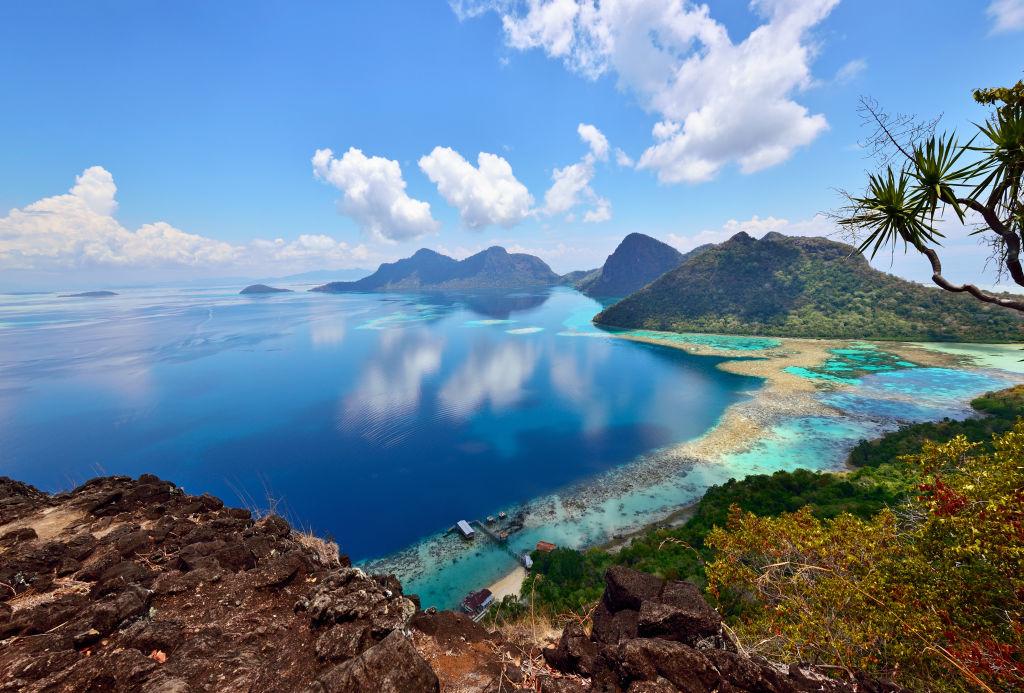 Asia, Lake, Land