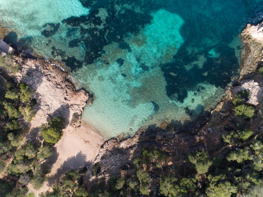 Bucht in Portals Vells, Mallorca