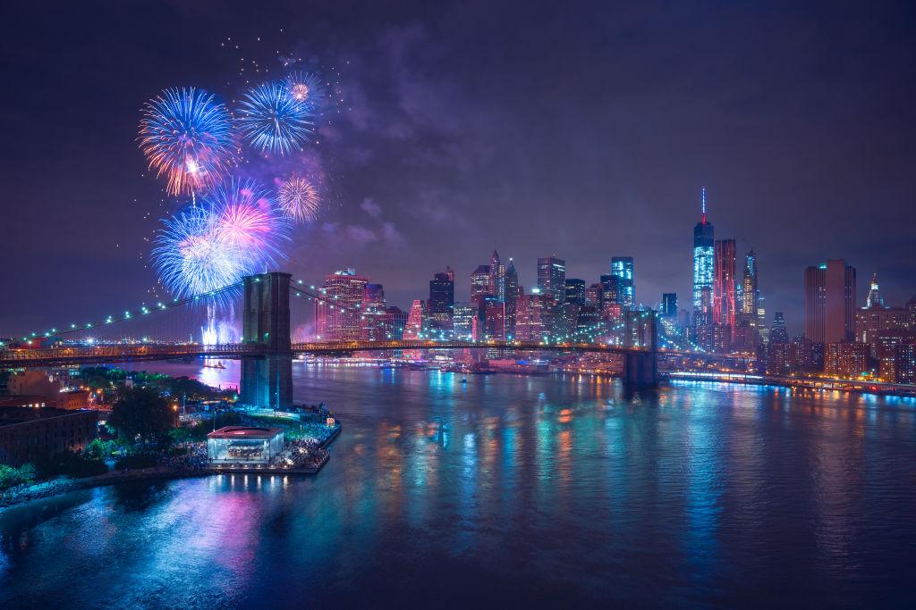 celebration, fireworks, New Year's Eve
