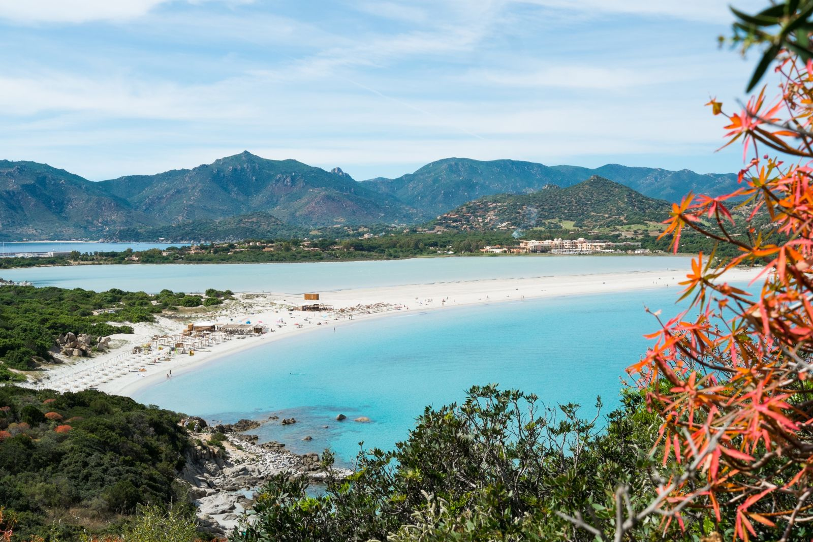 Sardinien Strand Sommer Italien