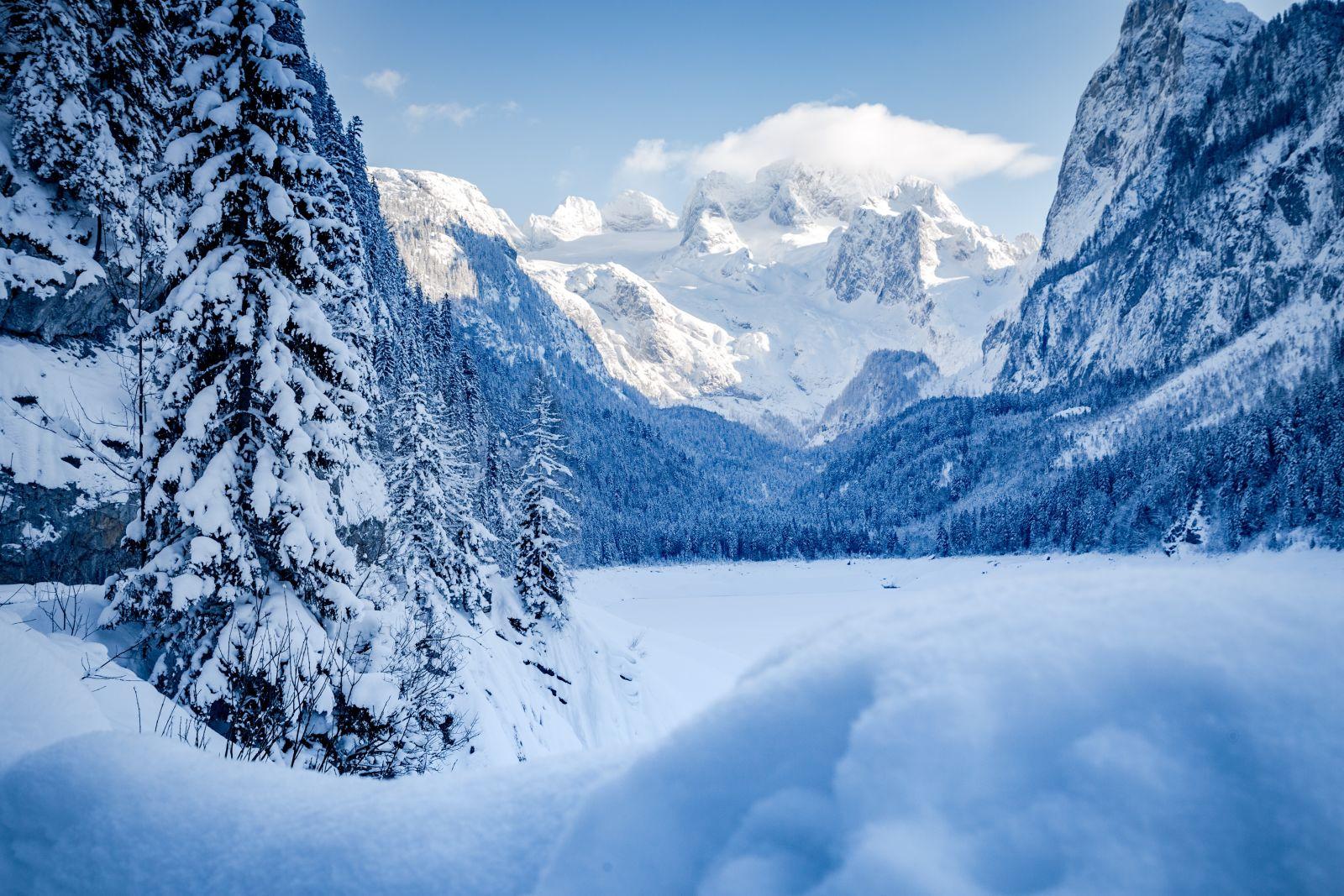 Austria, Europe, Glacier