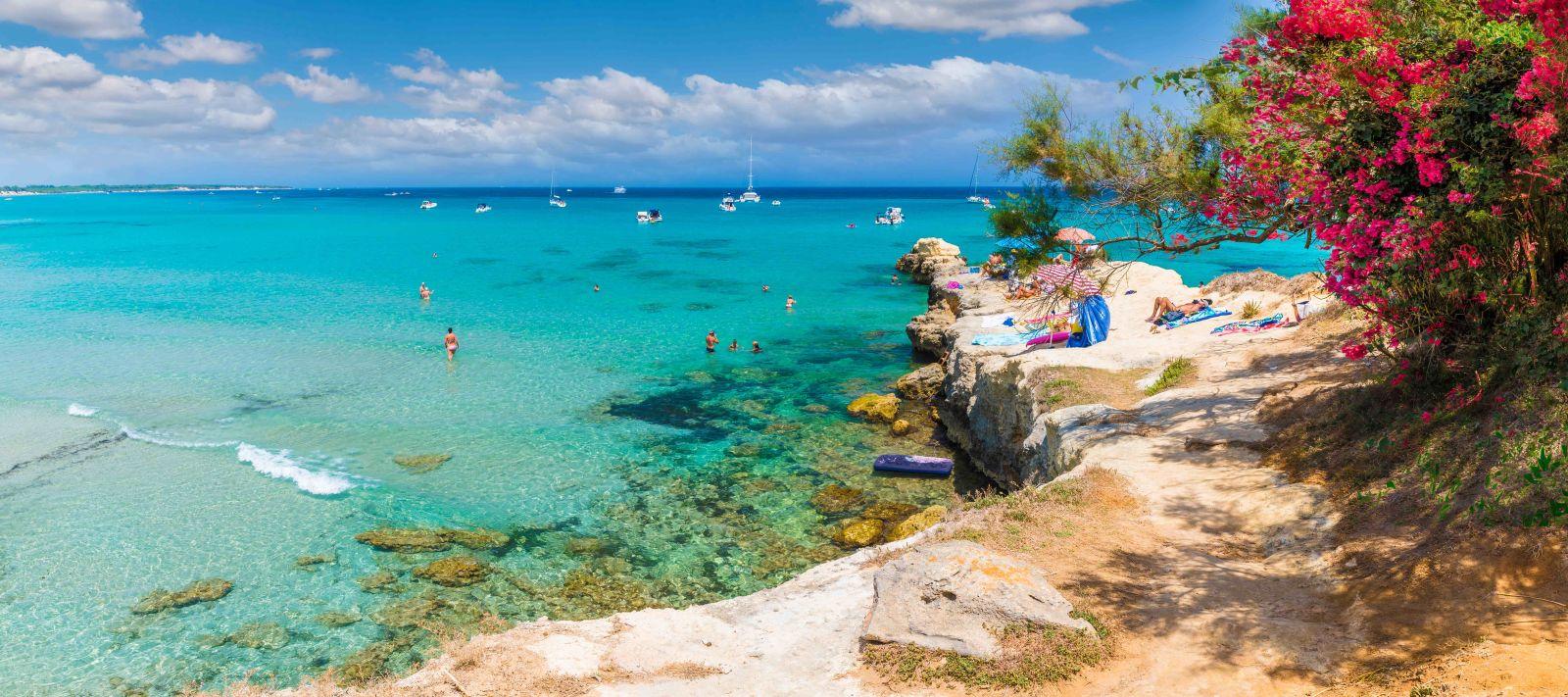 Apulia, Beach, Body of water