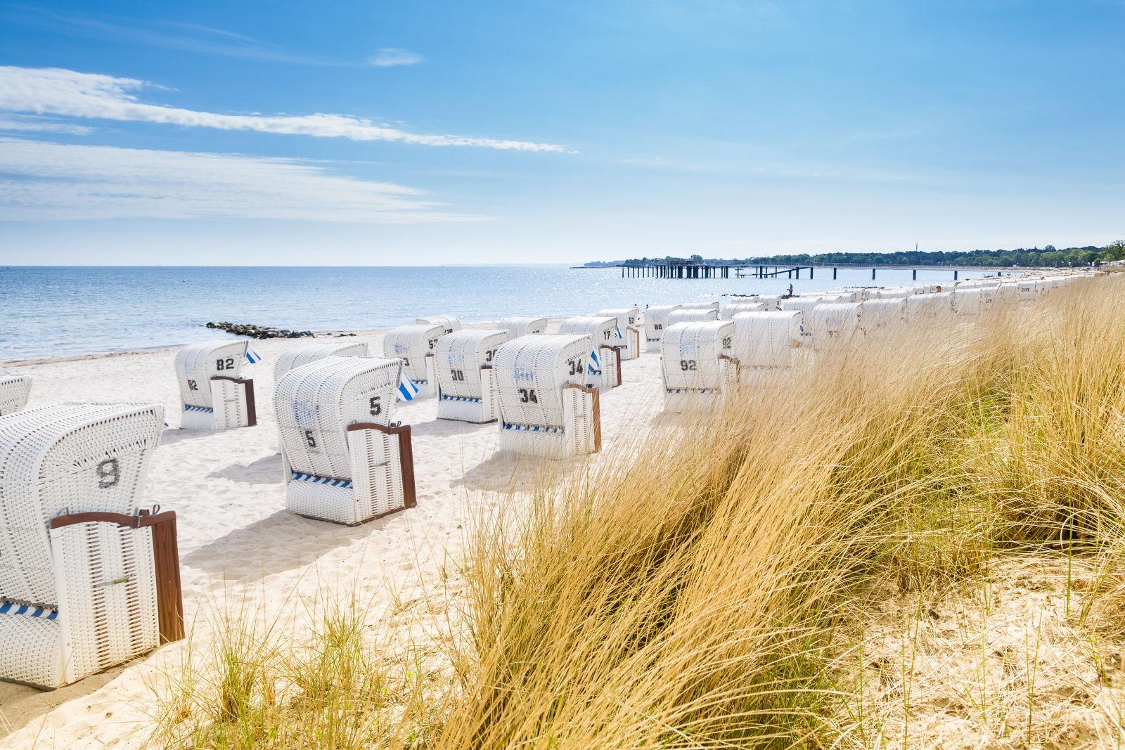 Strandurlaub in Deutschland an der Ostsee