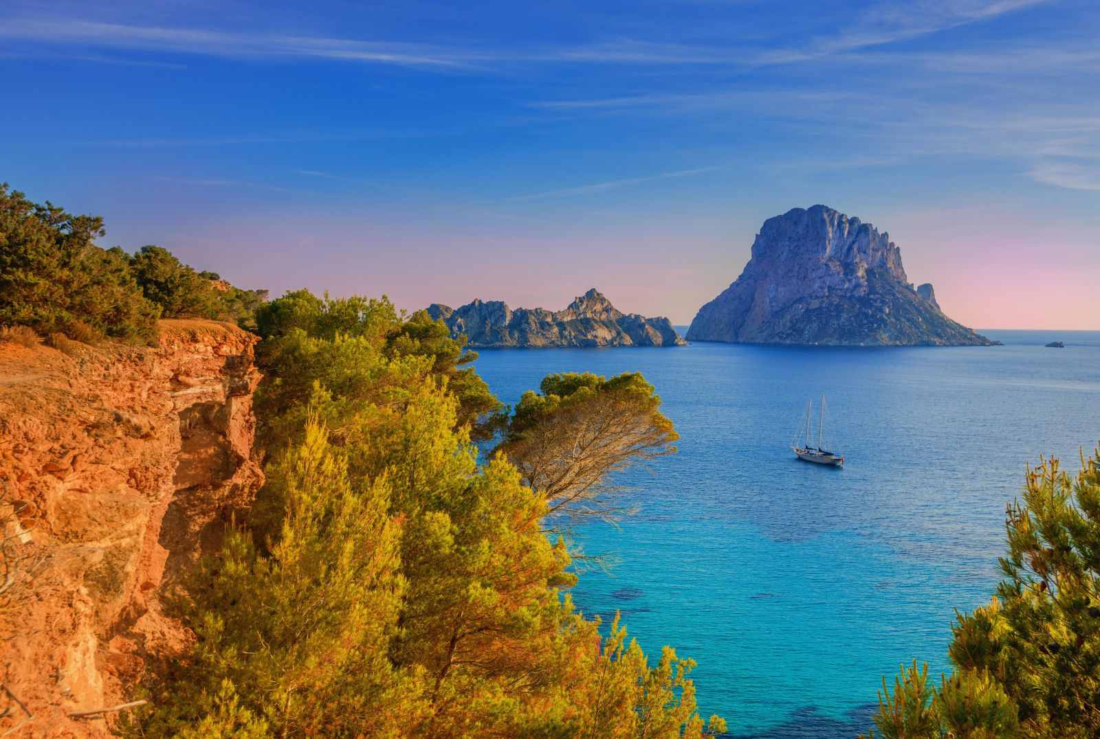 Balearic Islands, Boat, Coast