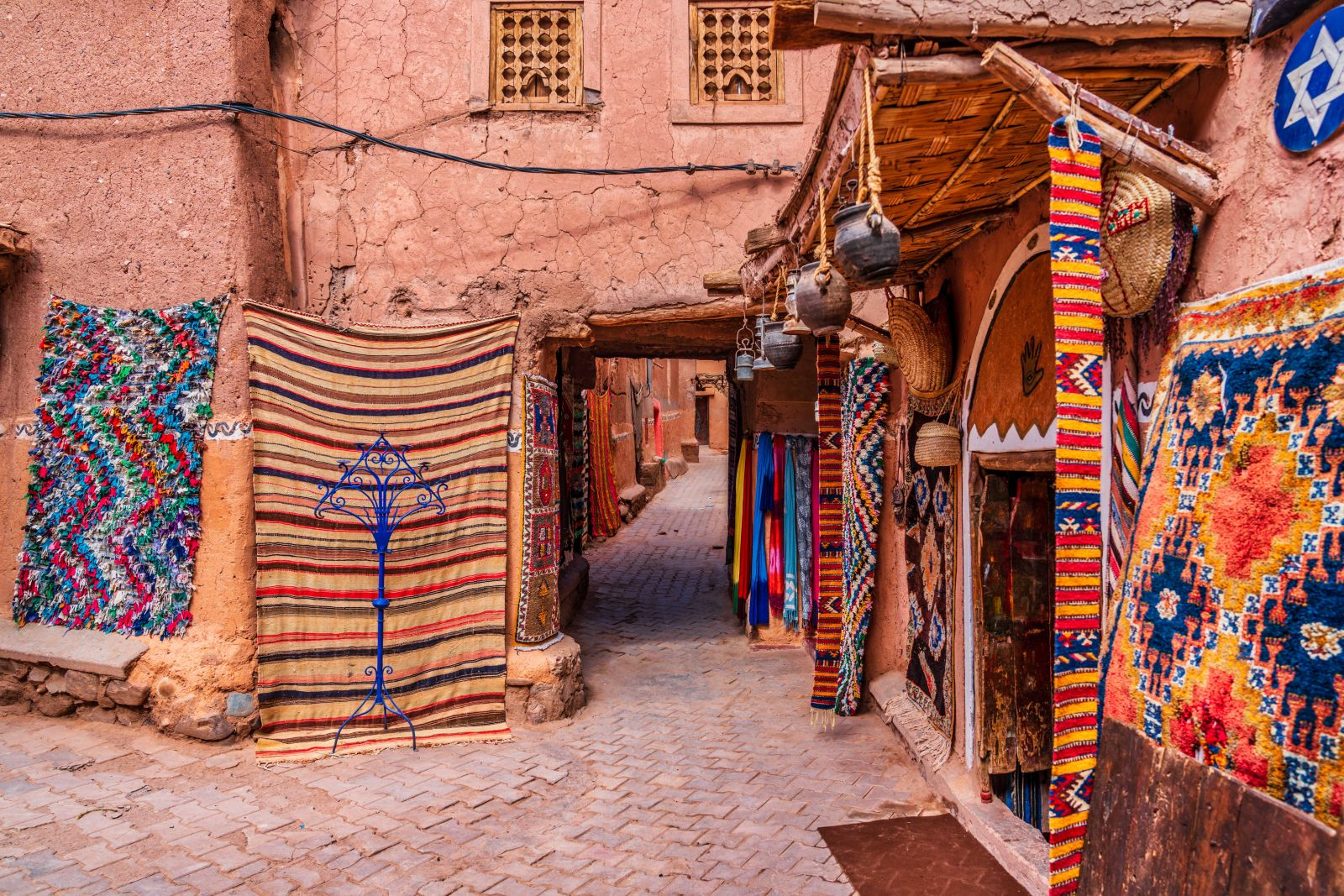 Marrakesch Souk Teppich
