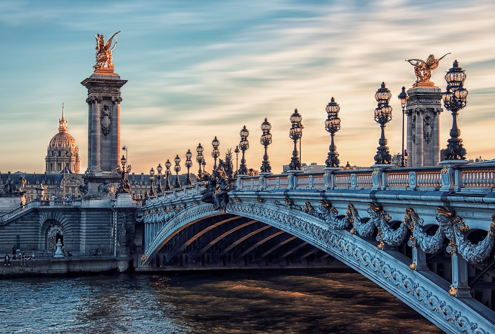 Brücke in Paris, Frankreich