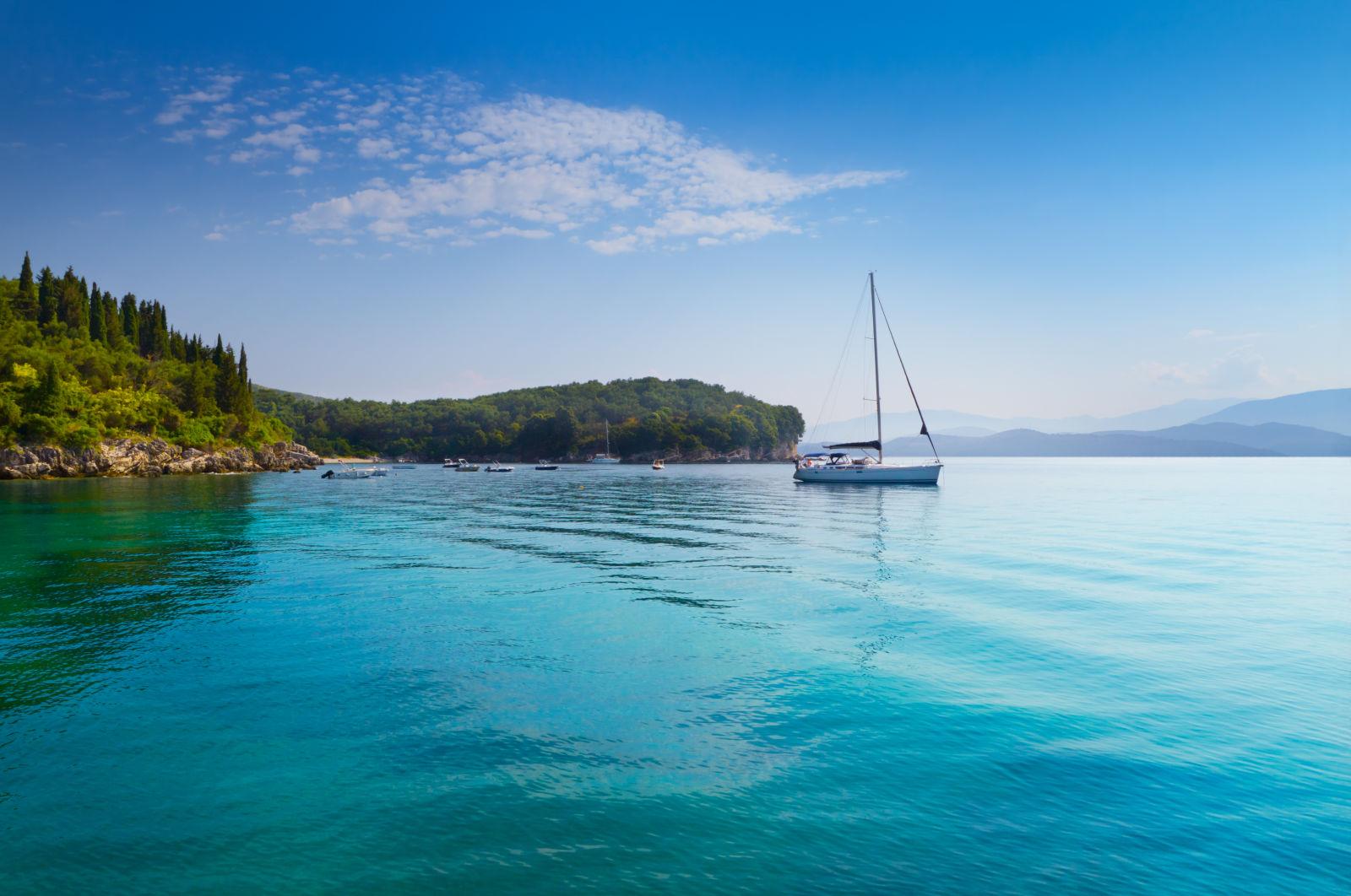Boat, Corfu, Europe