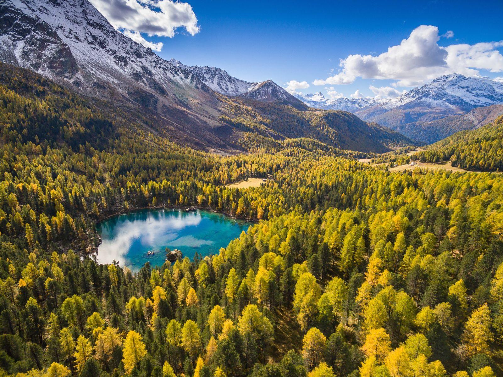 Lago Saoseo - Val di Campo Schweiz