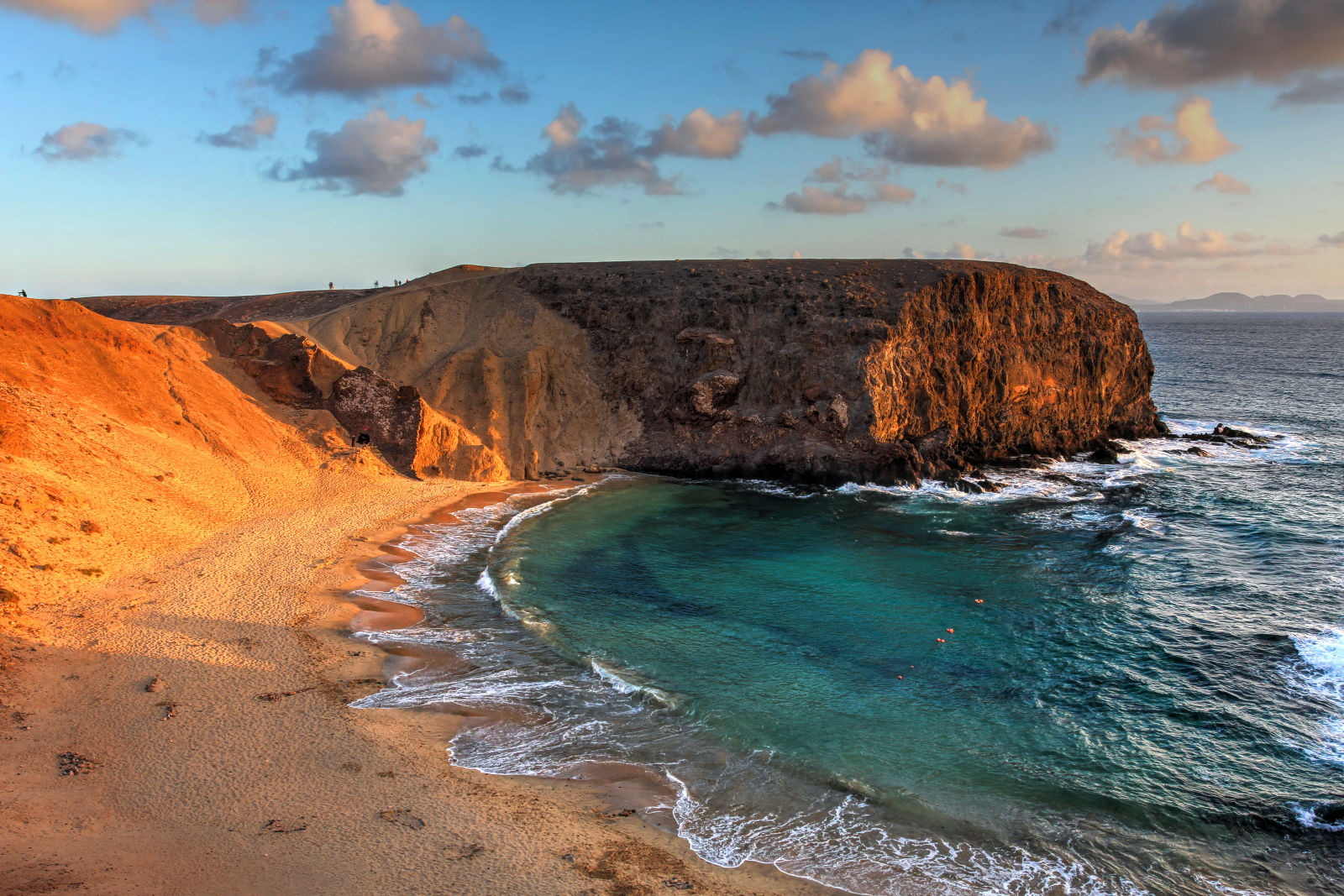 Papagayo-Beach Strand Kanaren Spanien