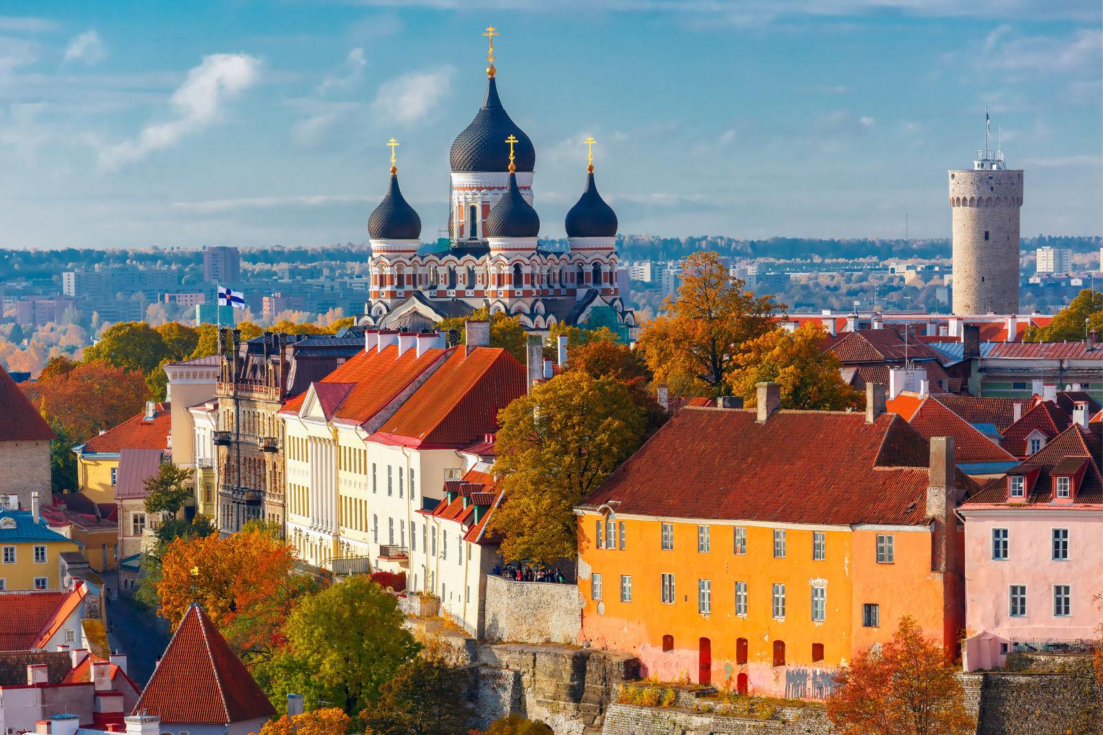 Tallinn Altstadt Aussicht Estland