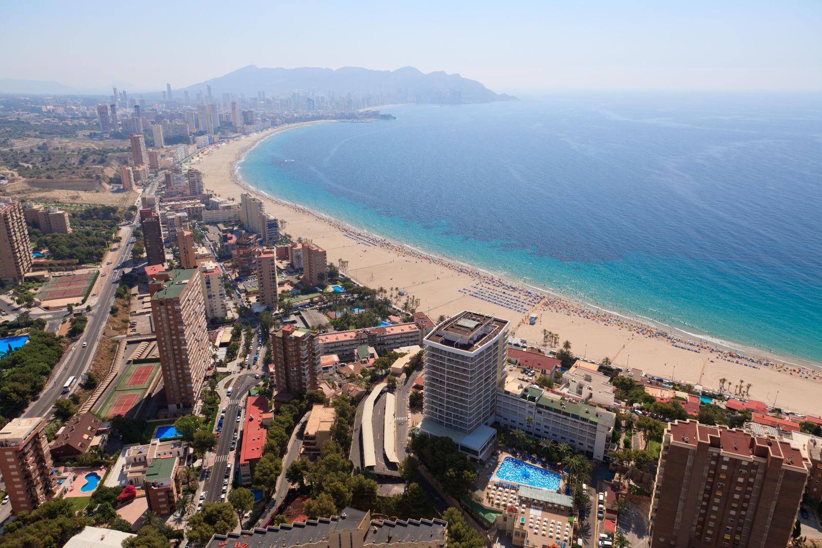 Aerial View, Alicante, Benidorm