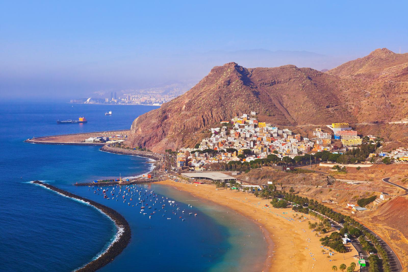 Aerial View, Canary Islands, Coast