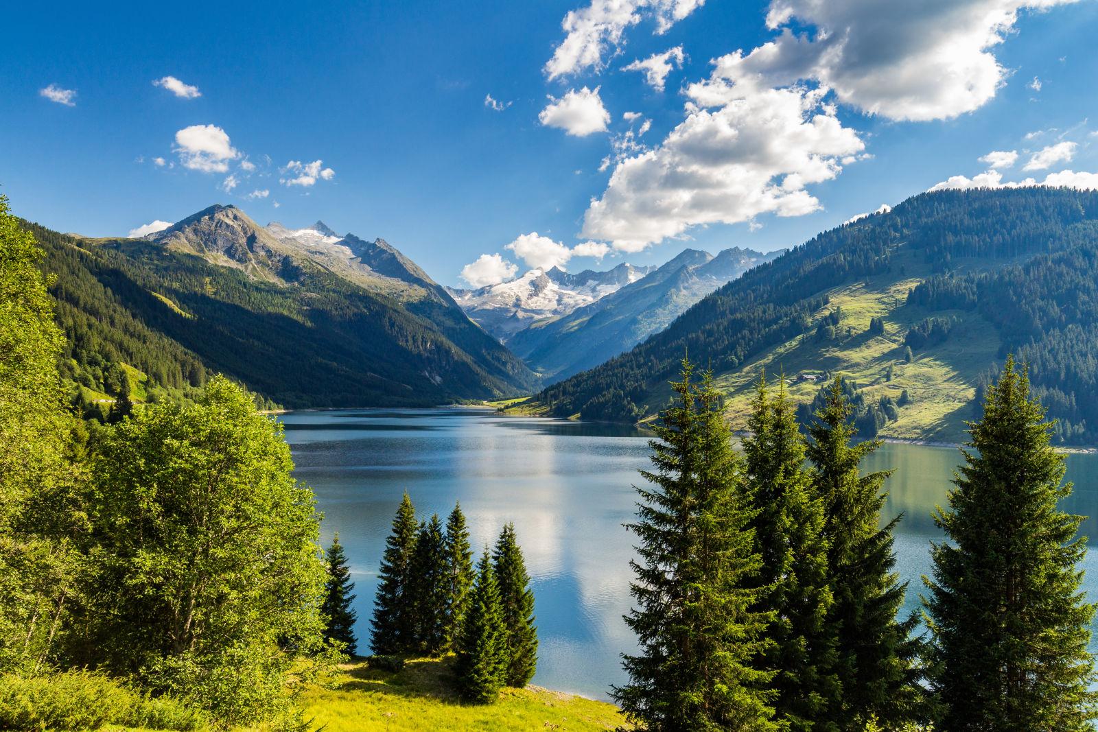 Zillertaler Alpen in Österreich