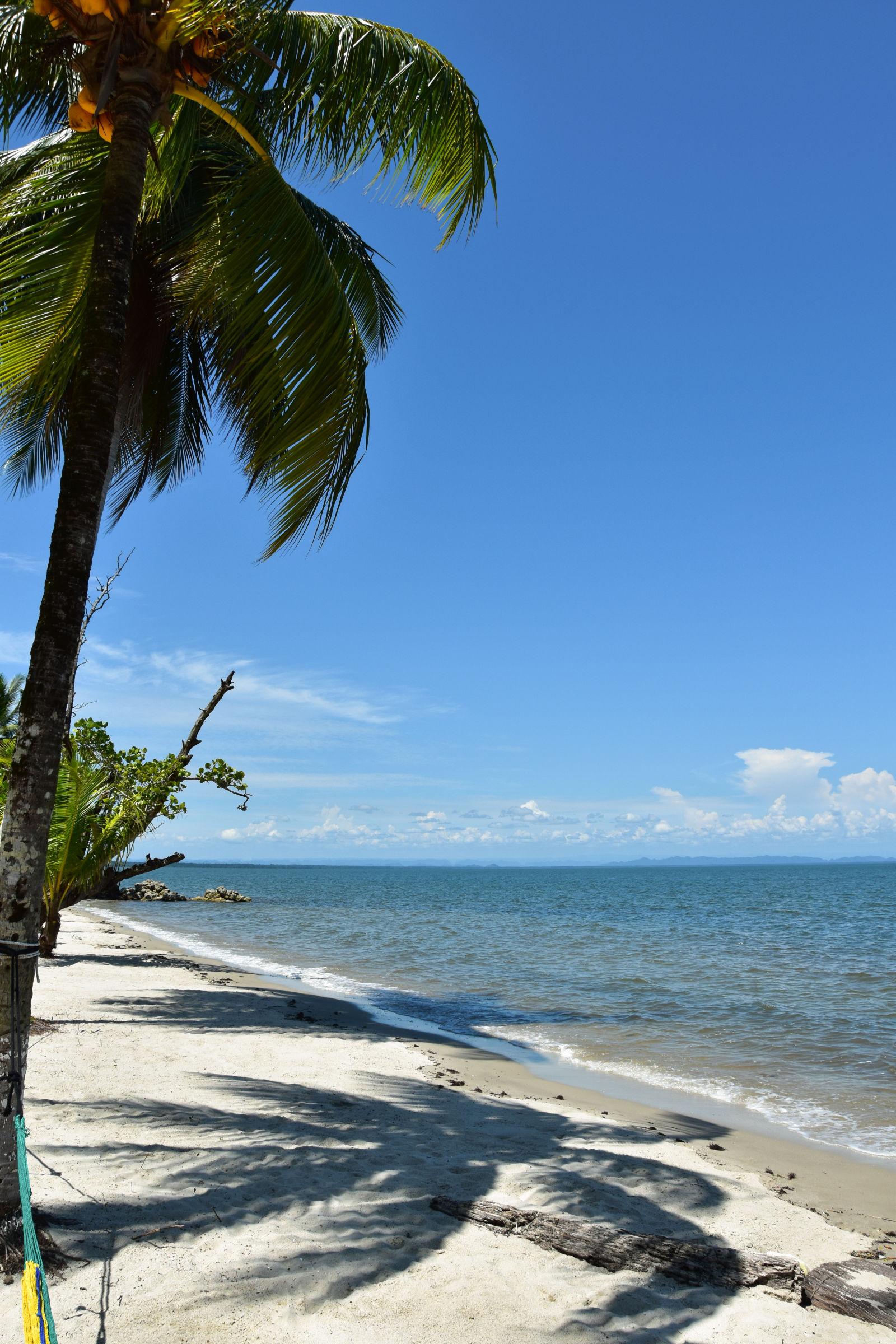 Strand in Guatemala
