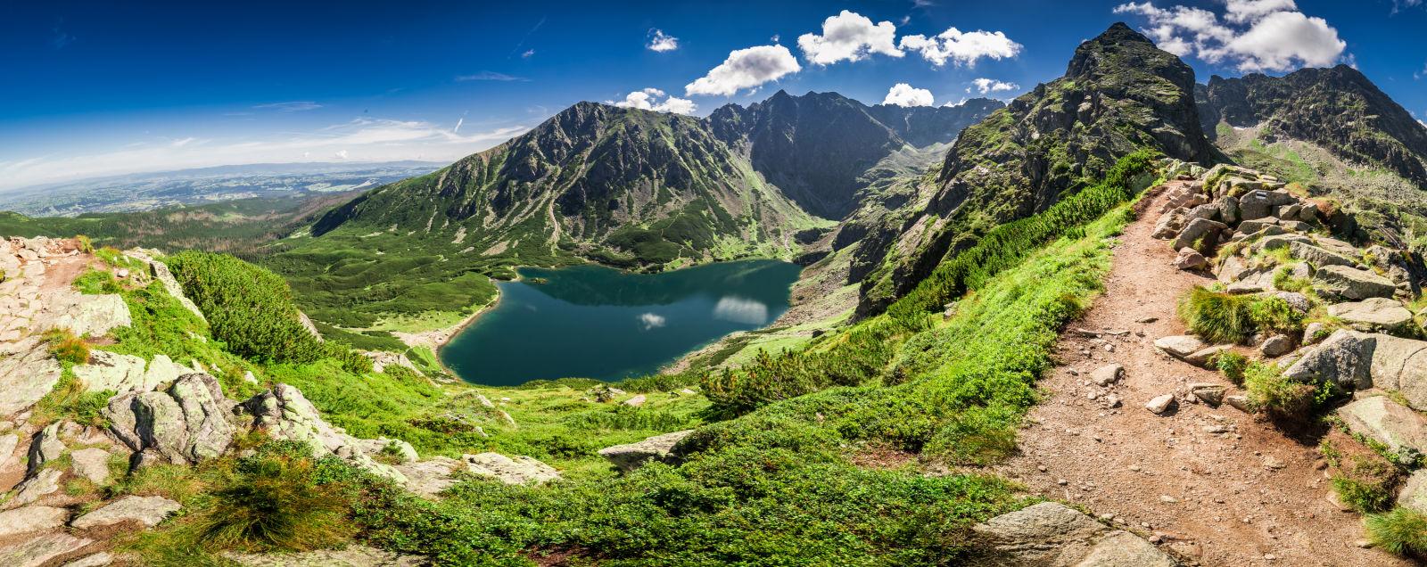 Hohe Tatra Berge Polen Natur See