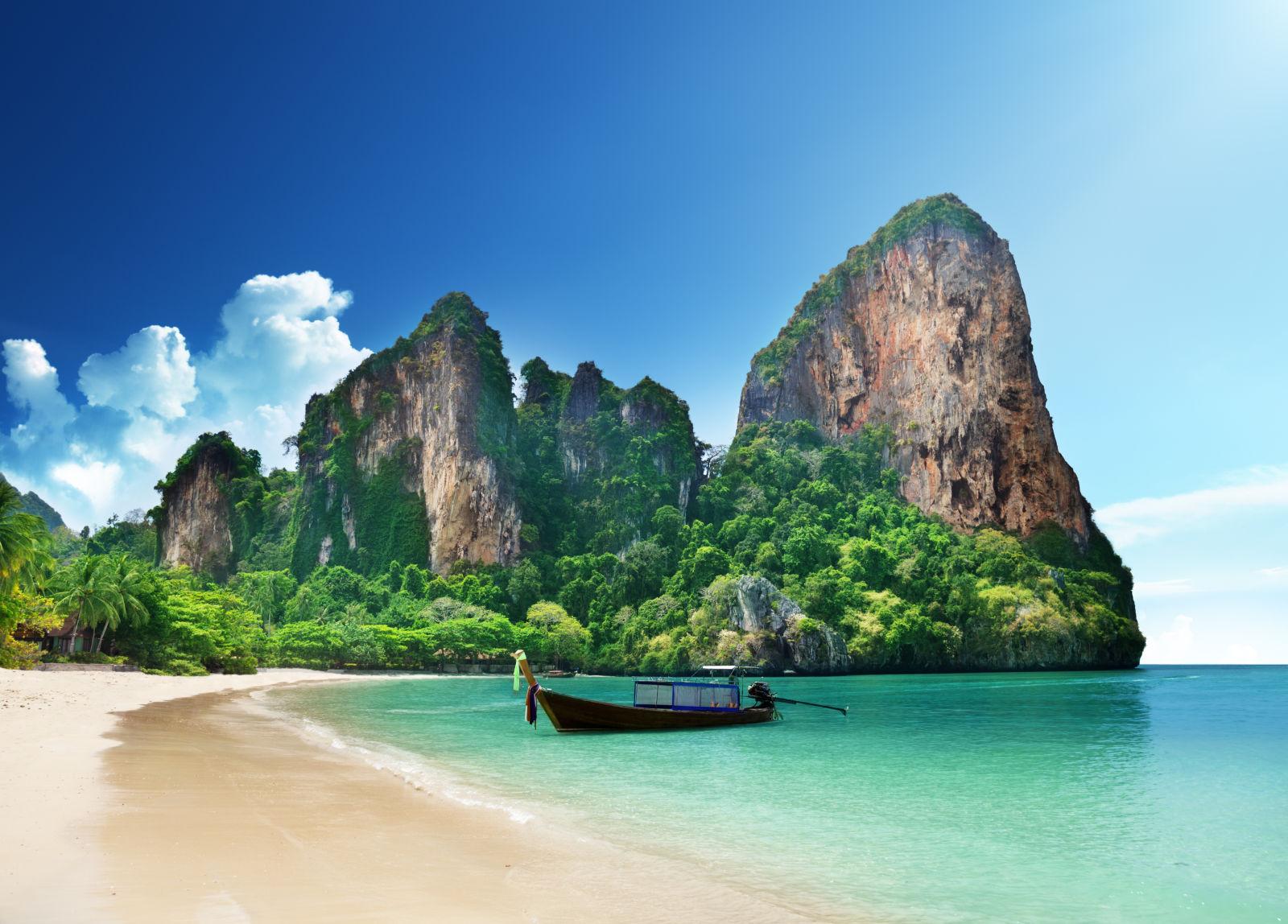 Railay Strand in Krabi, Thailand