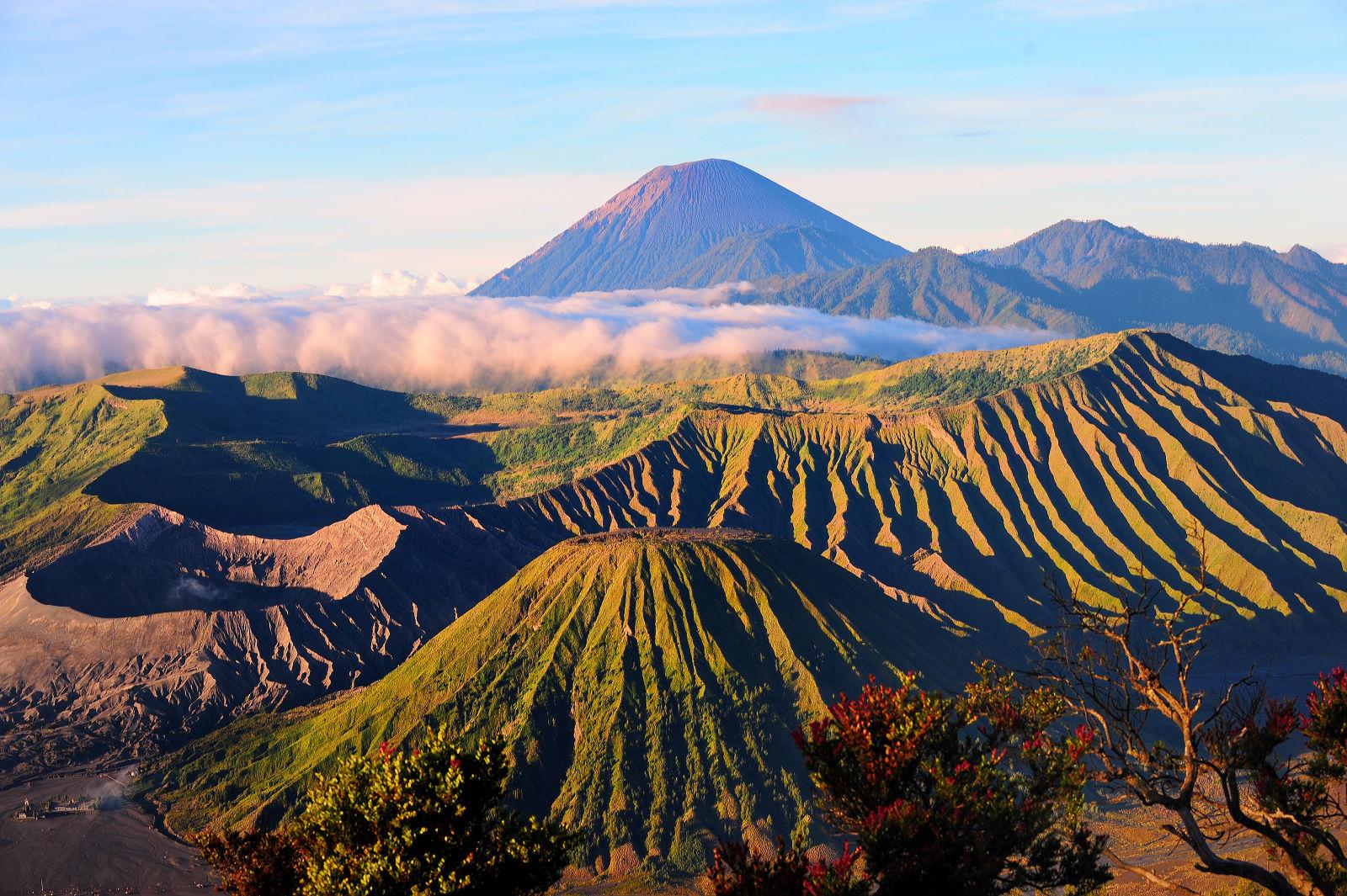 Berg Bromo in Indonesien