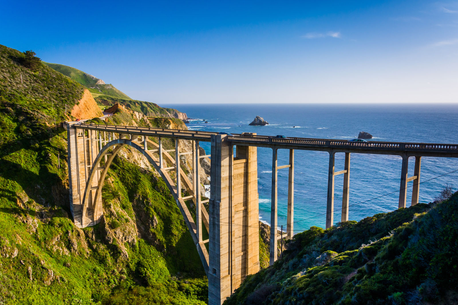 Bixby Creek Bridge, Big Sur California, Highway 1