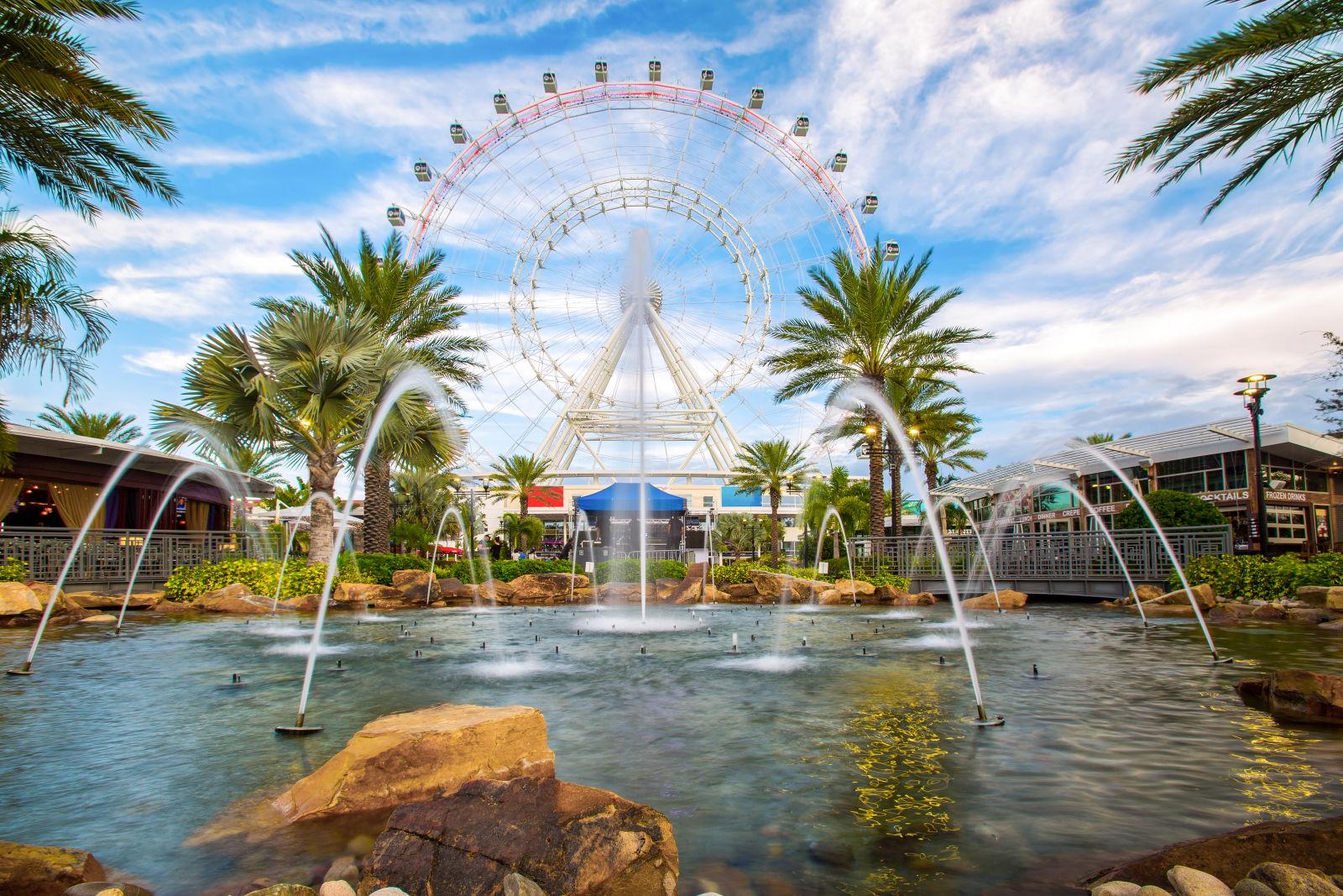 Amusement Park, Ferris Wheel, Florida