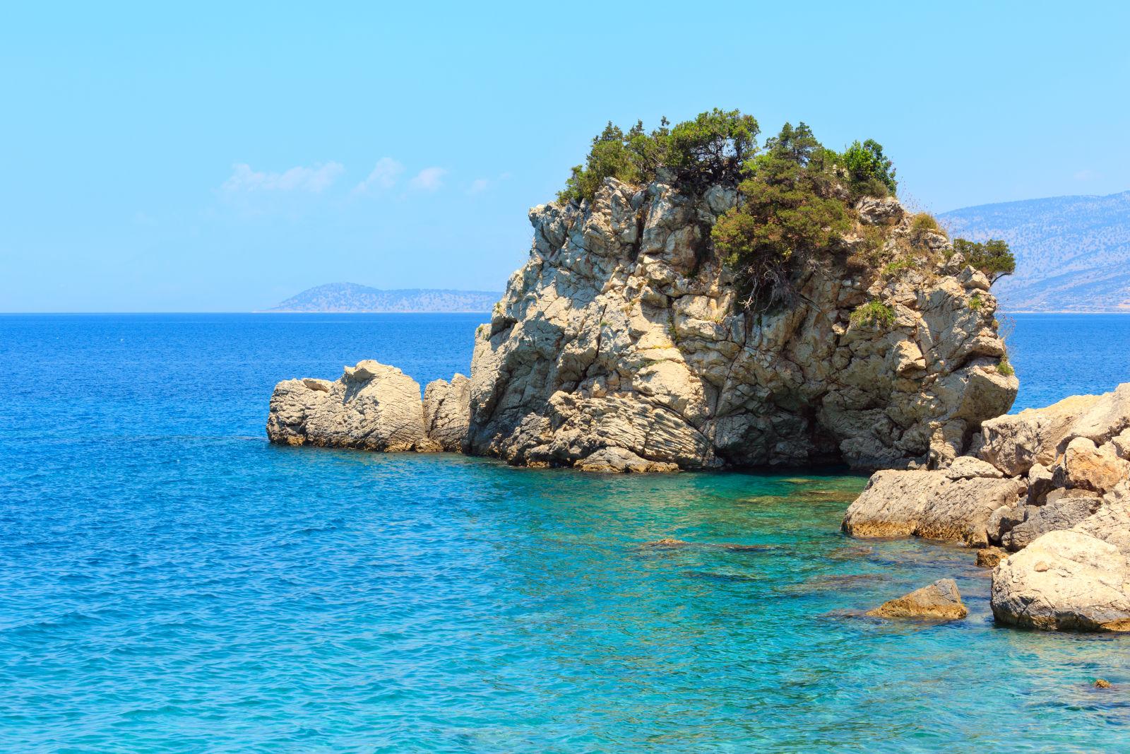Albania, Cliff, Coast