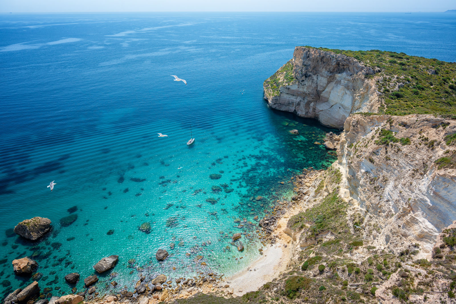Küste von Cagliari, Sardinien