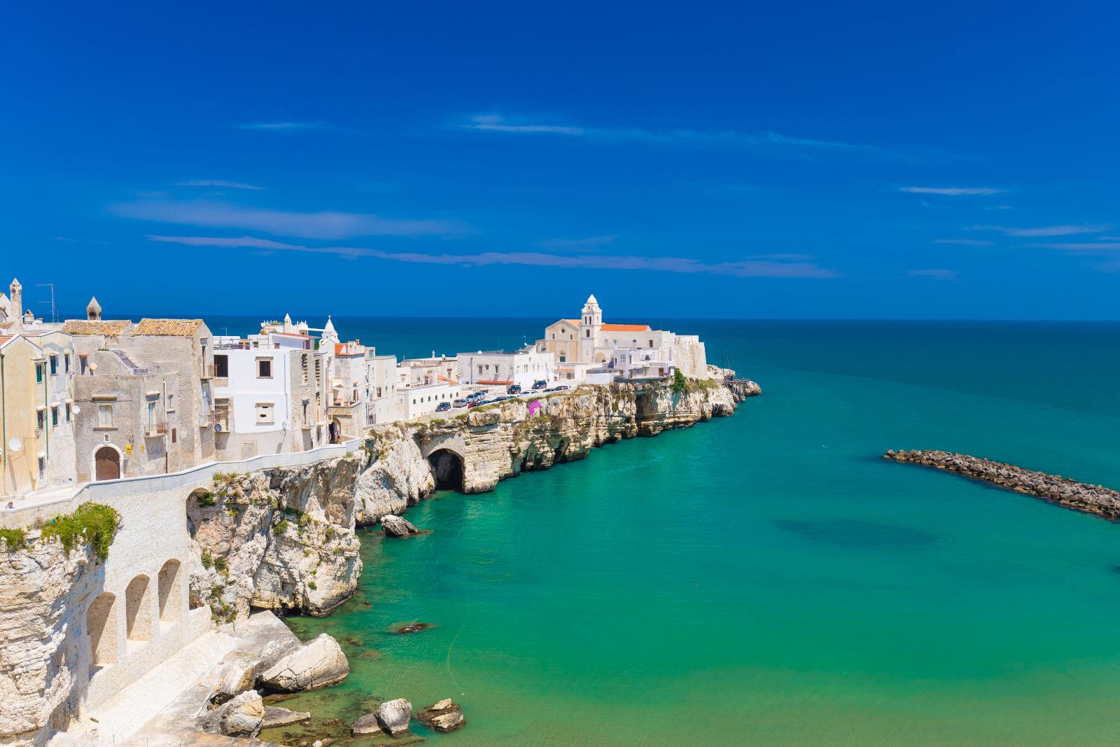 Apulia, Coast, Europe
