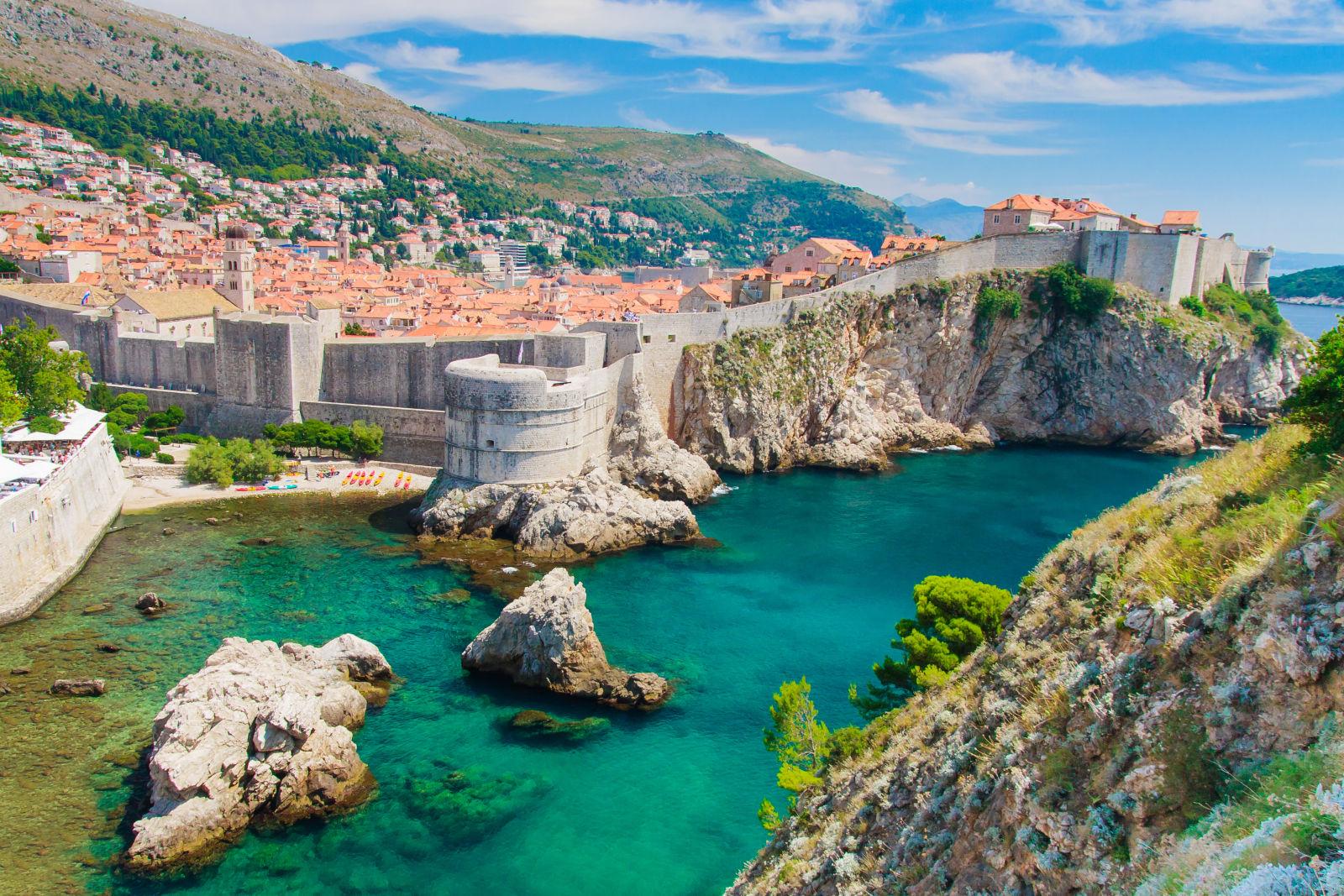 Cliff, Coast, Croatia