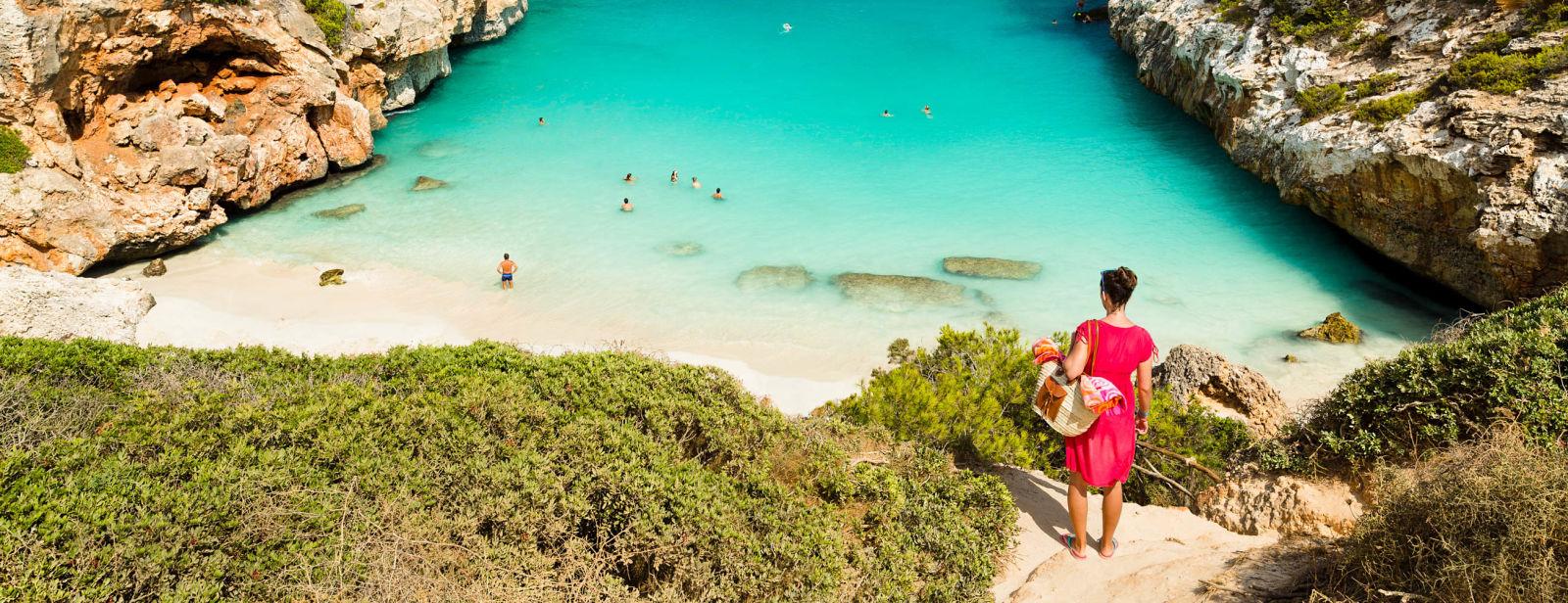 Calo des Moro, Mallorca Spanien Bucht Strand