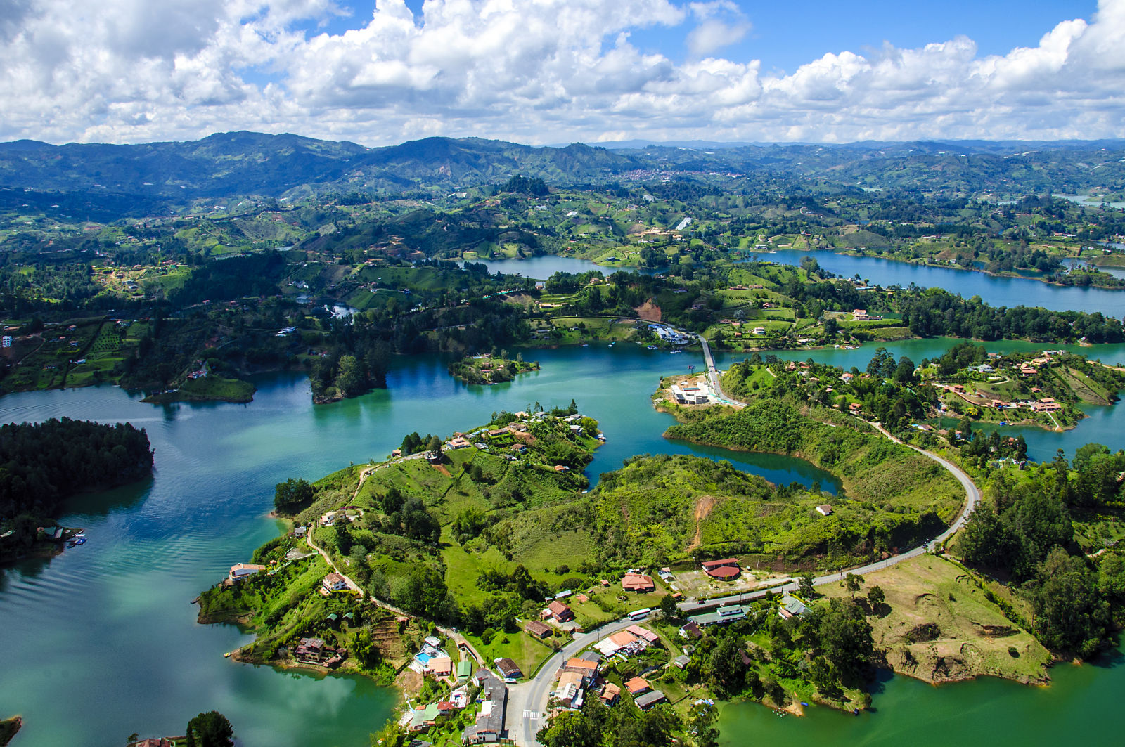 Guatape Kolumbien Aussicht Natur