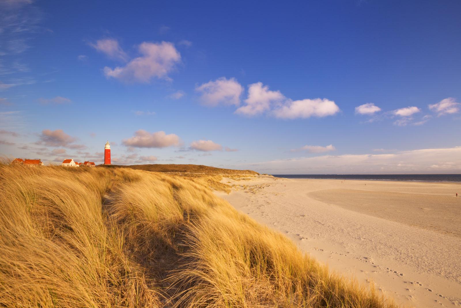 Strand von Texel in Nordholland