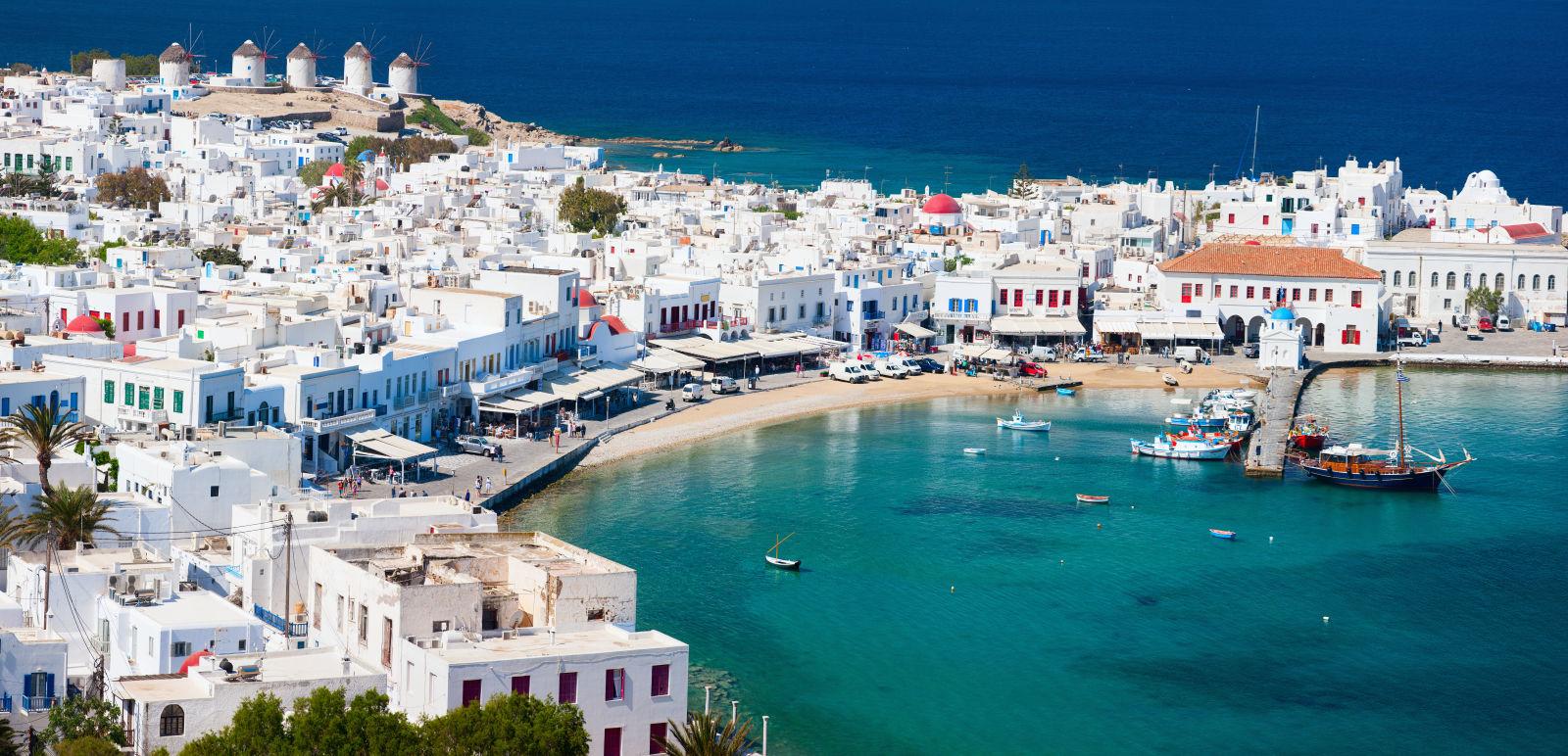 Europe, Greece, Mykonos