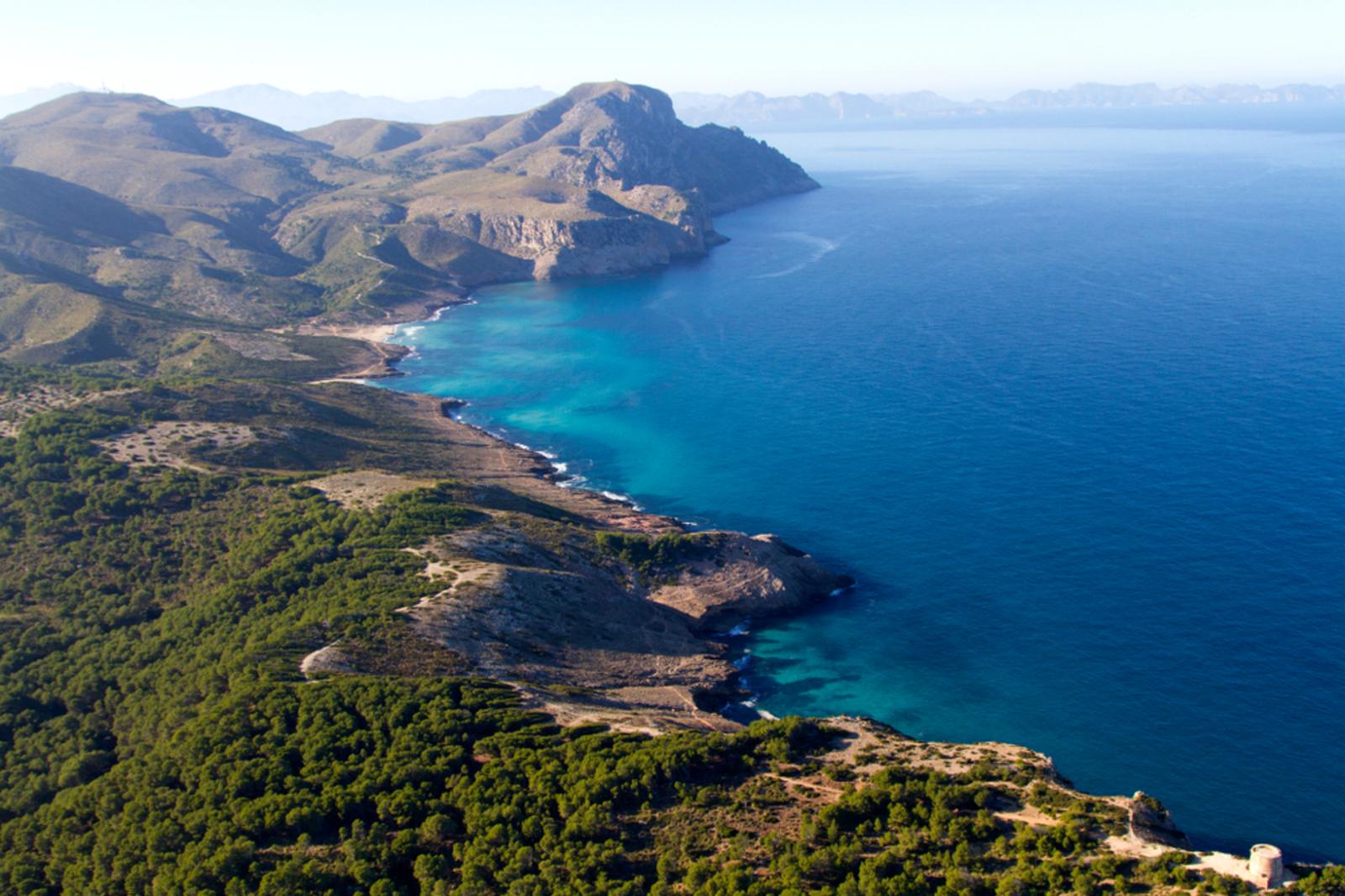 Küste im Nordosten Mallorcas, Na Balladora