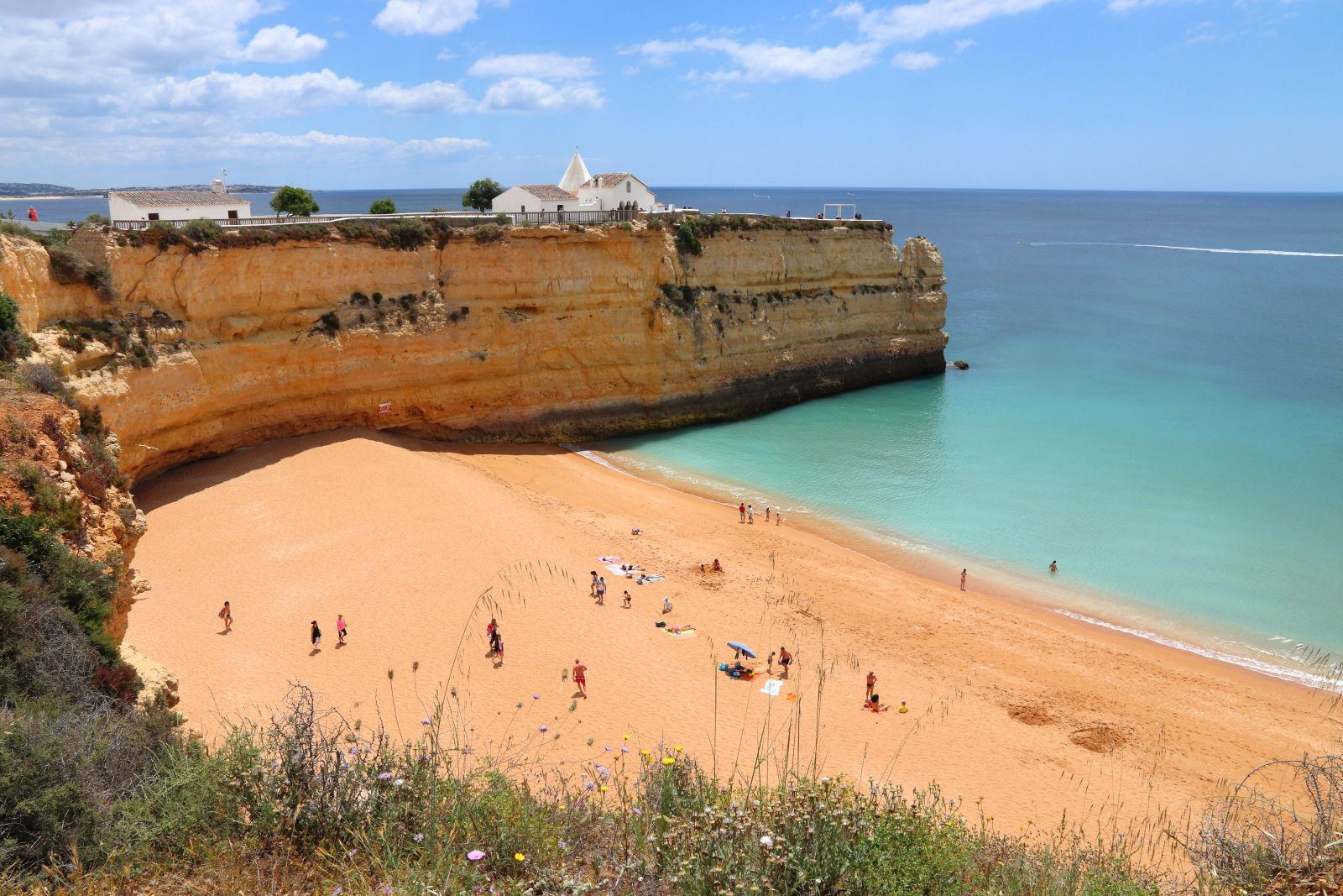 Algarve, Azure, Beach