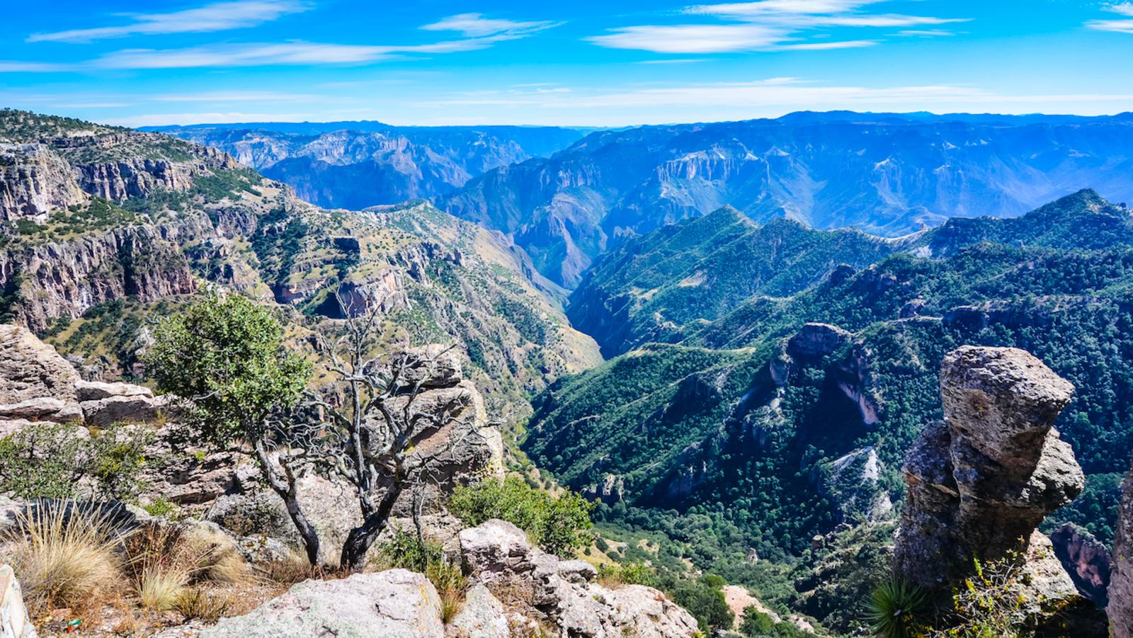 Sierra Madre Occidental, Chihuahua, Mexiko