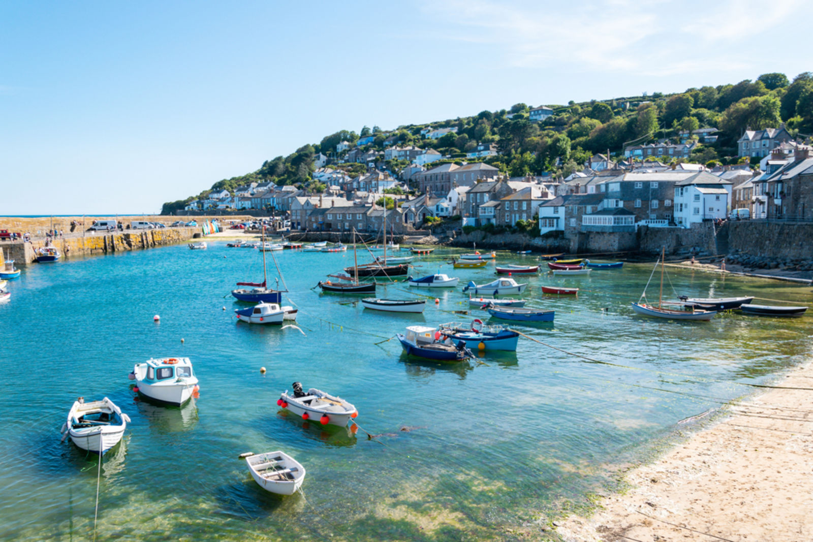 boats, Cornish, Cornwall