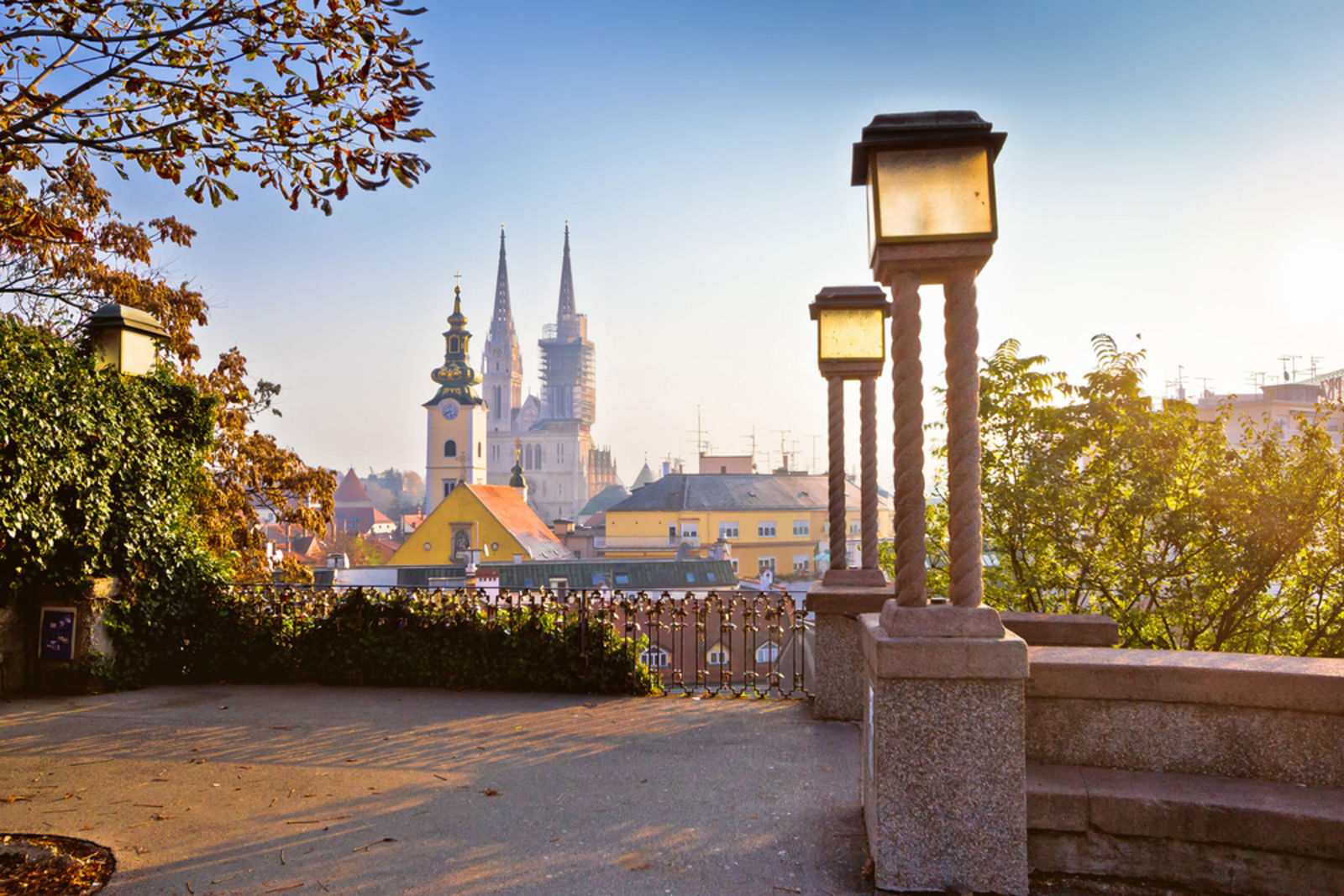 Citytrip, Zagreb, Croatia, Park, Summertime