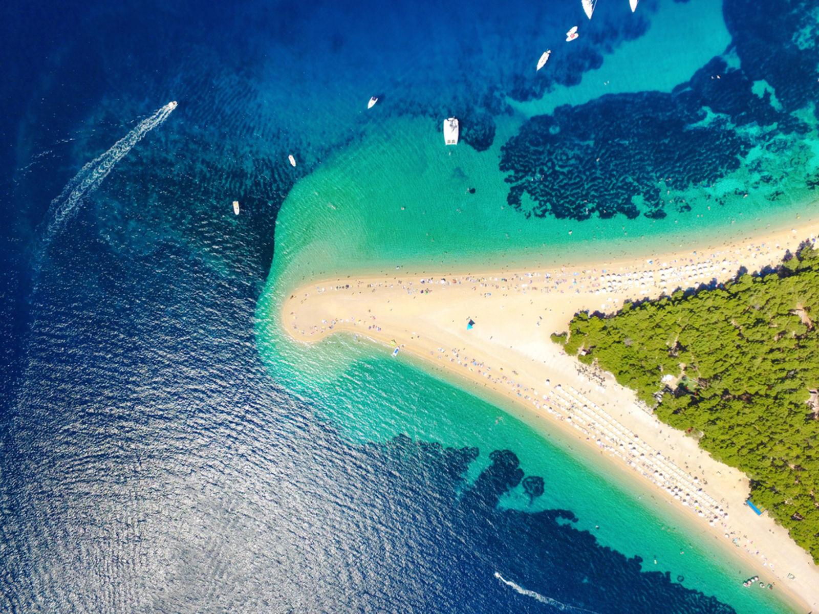 Sommerurlaub in Kroatien am Meer