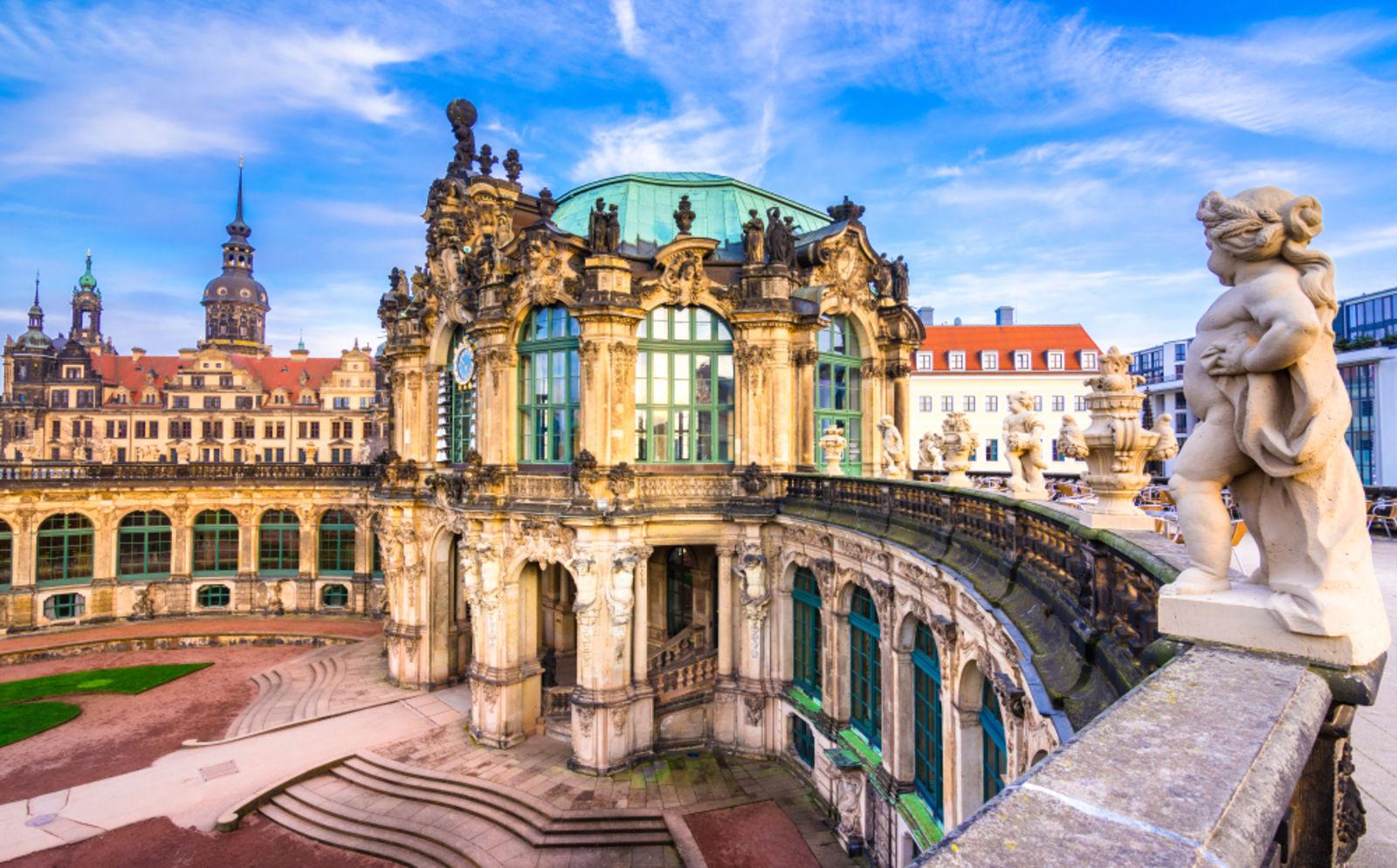 Zwinger Schloss in Dresden