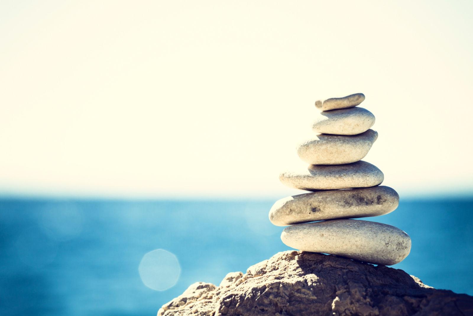 Wellness Stones ocean