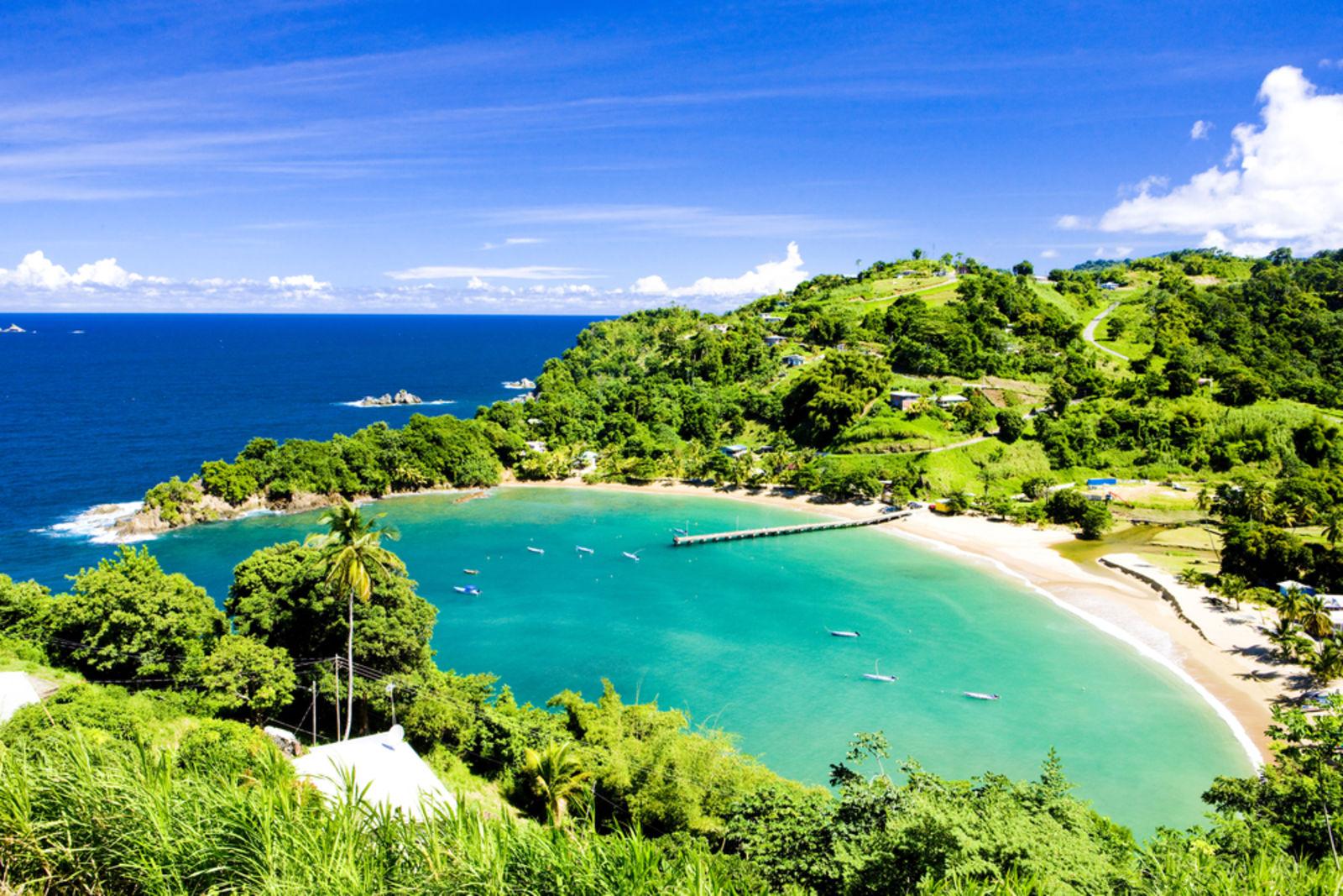 Trinidad & Tobago Parlatuvier Bay