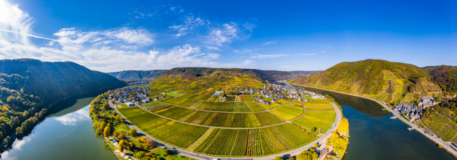 Rheinland-Pfalz, Mosel, Weinberge