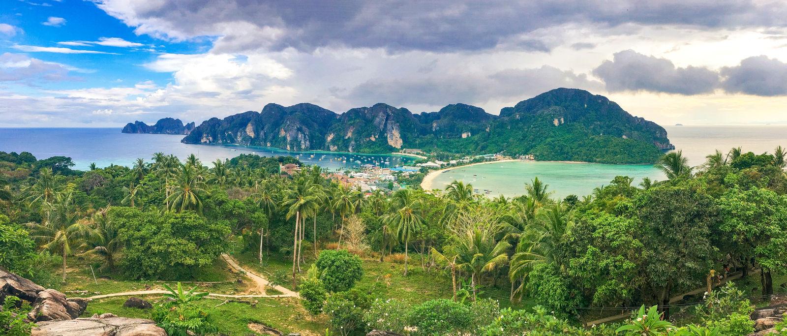 Luftbild von Ko Phi Phi