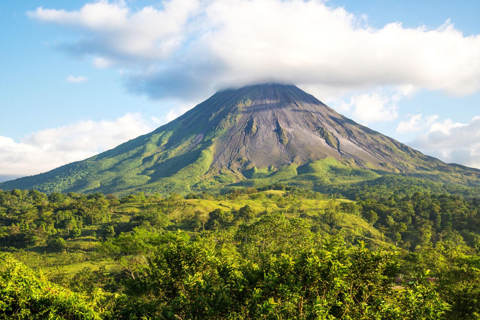 Arenal Volcano, Cloud, Costa Rica