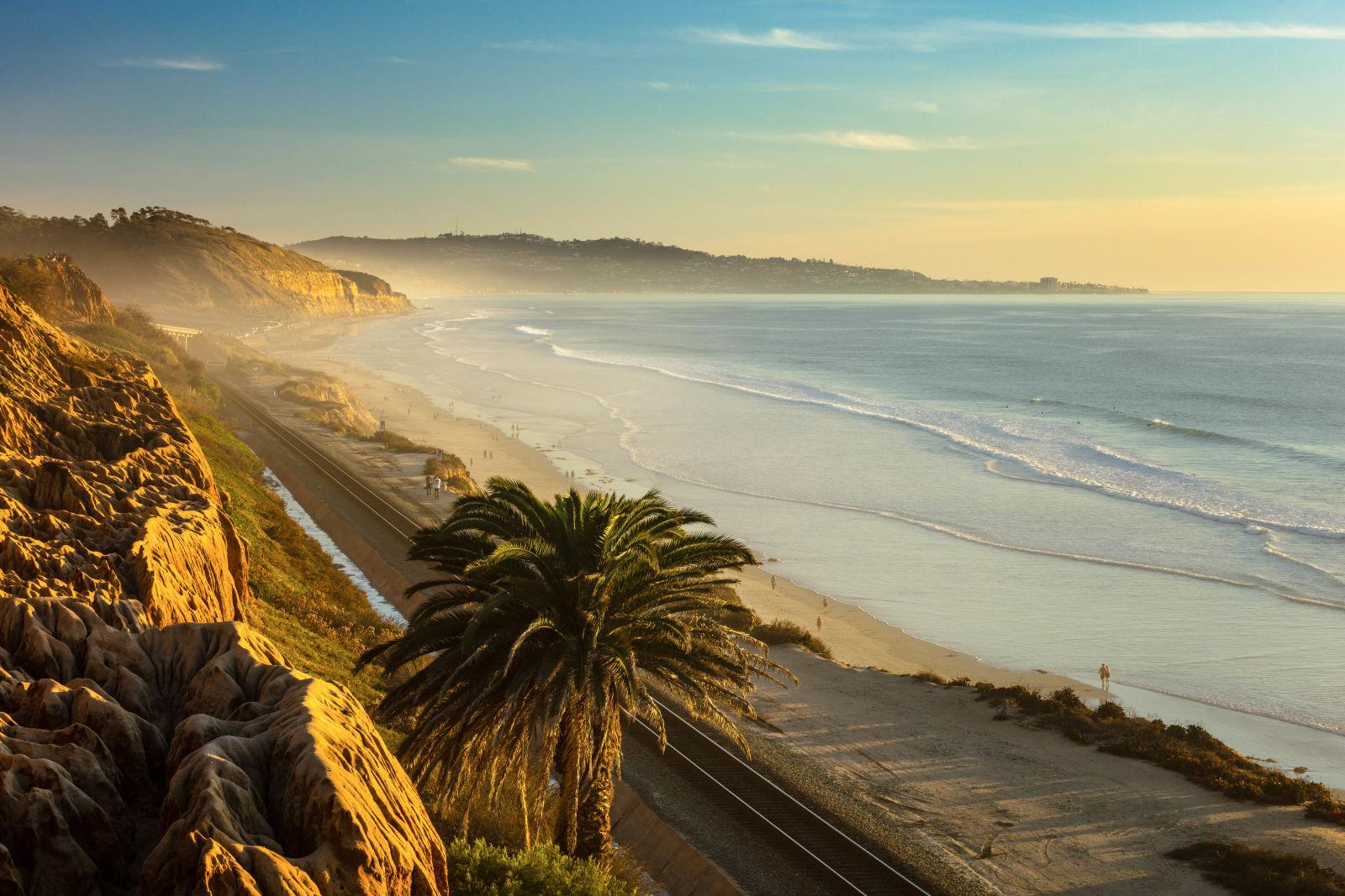 Azure, Beach, California