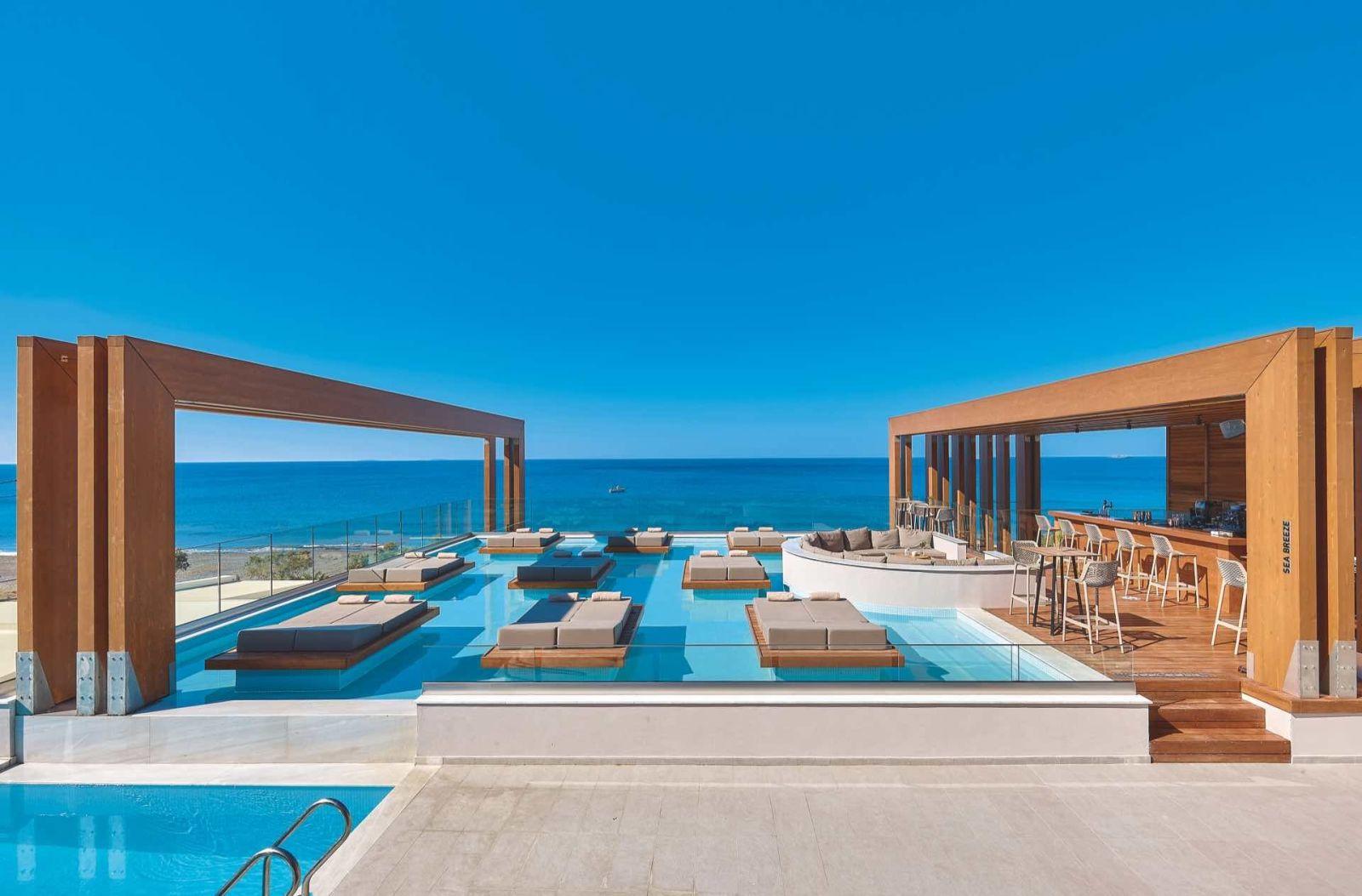 Enorme Santanna Beach, Crete, Greece